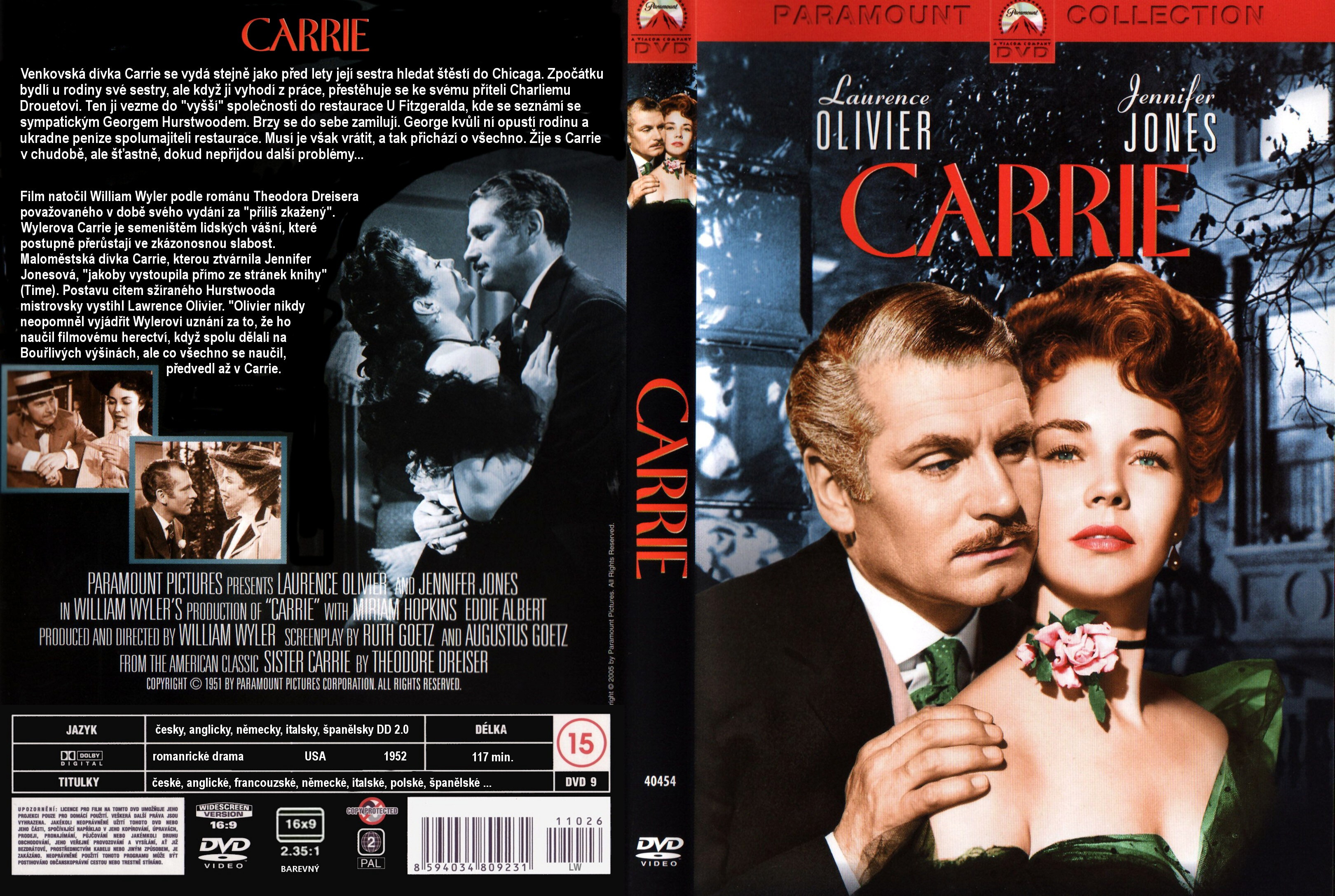 coversboxsk carrie 1952 high quality dvd