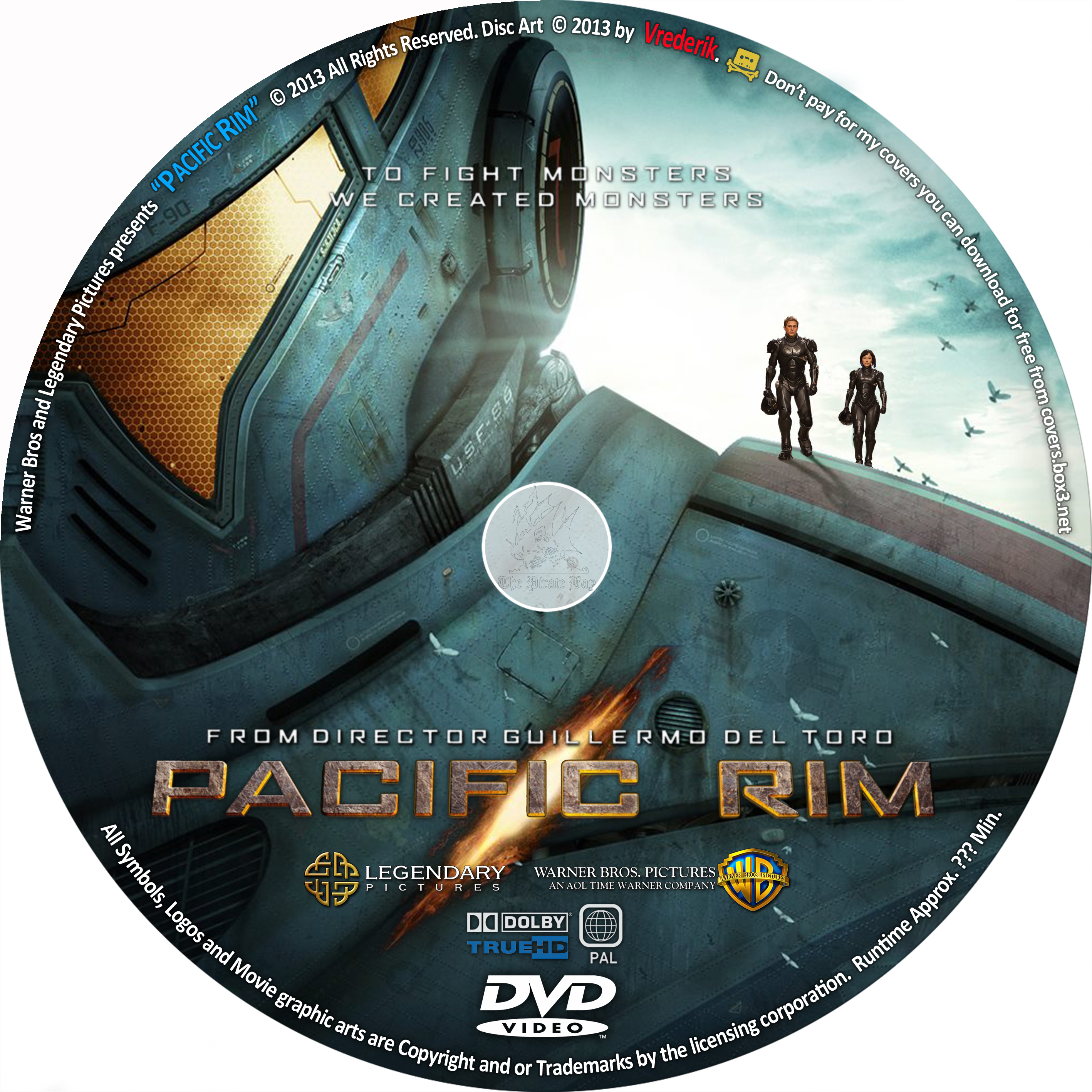 COVERS.BOX.SK ::: Pacific Rim - high quality DVD / Blueray ... Pacific Rim 2013 Dvd Cover