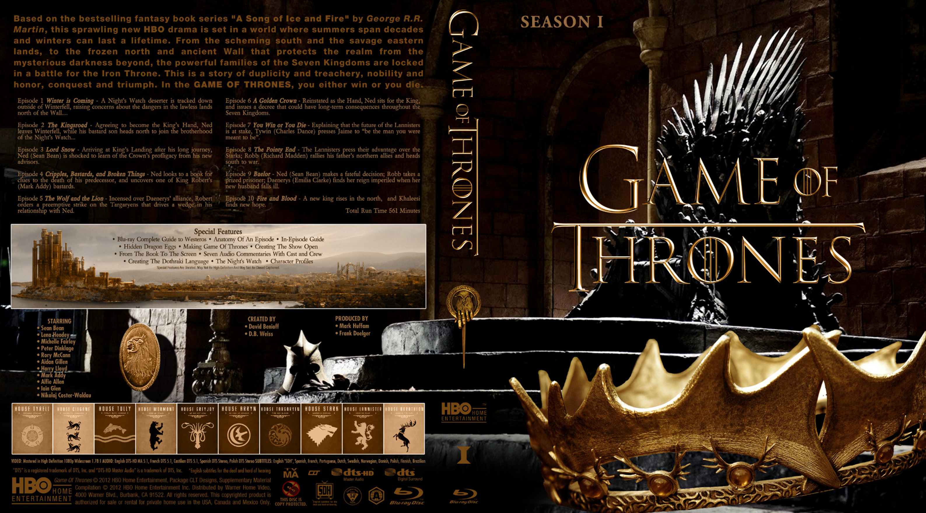 covers box sk game of thrones season 1 high. Black Bedroom Furniture Sets. Home Design Ideas
