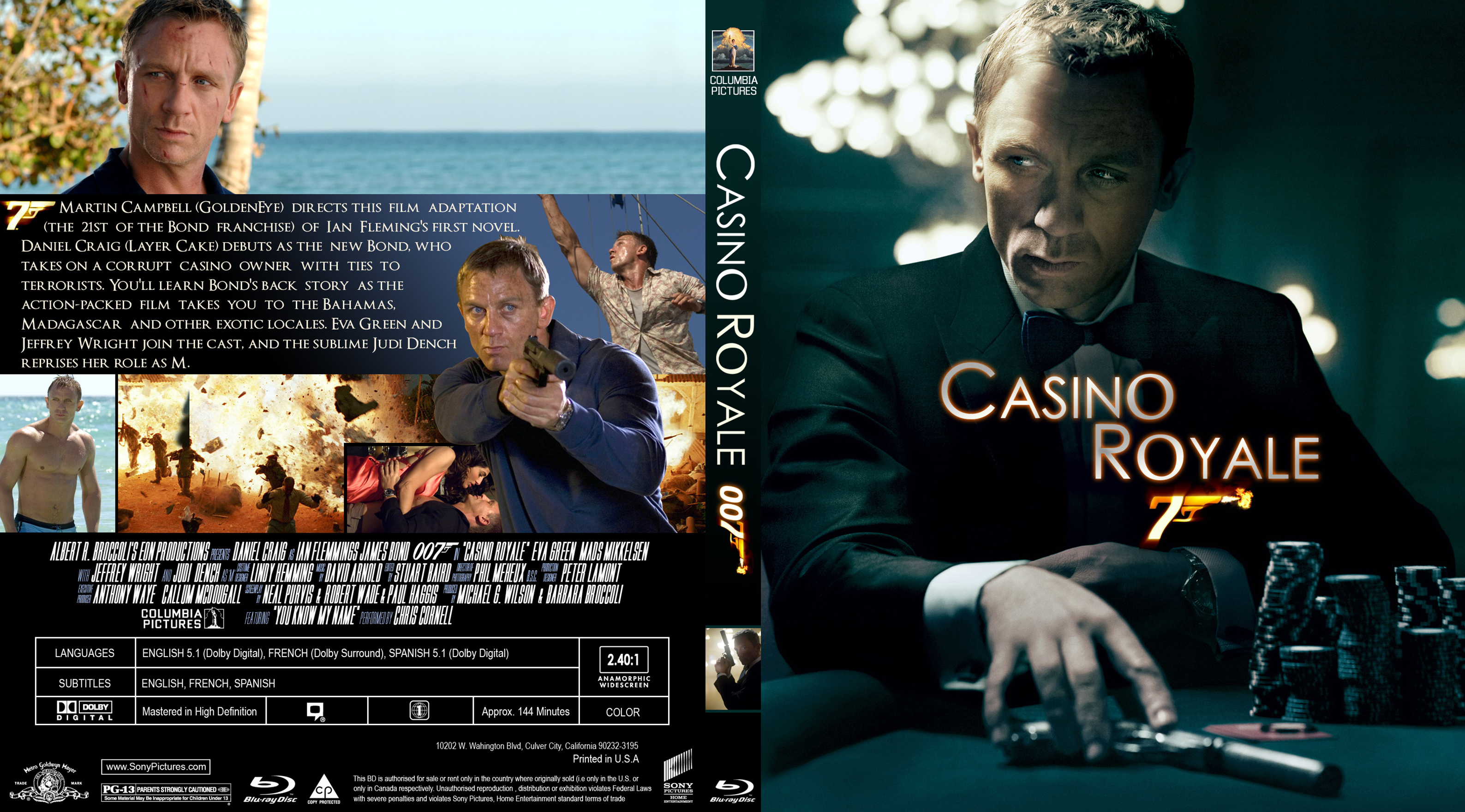 dvd cover casino royale