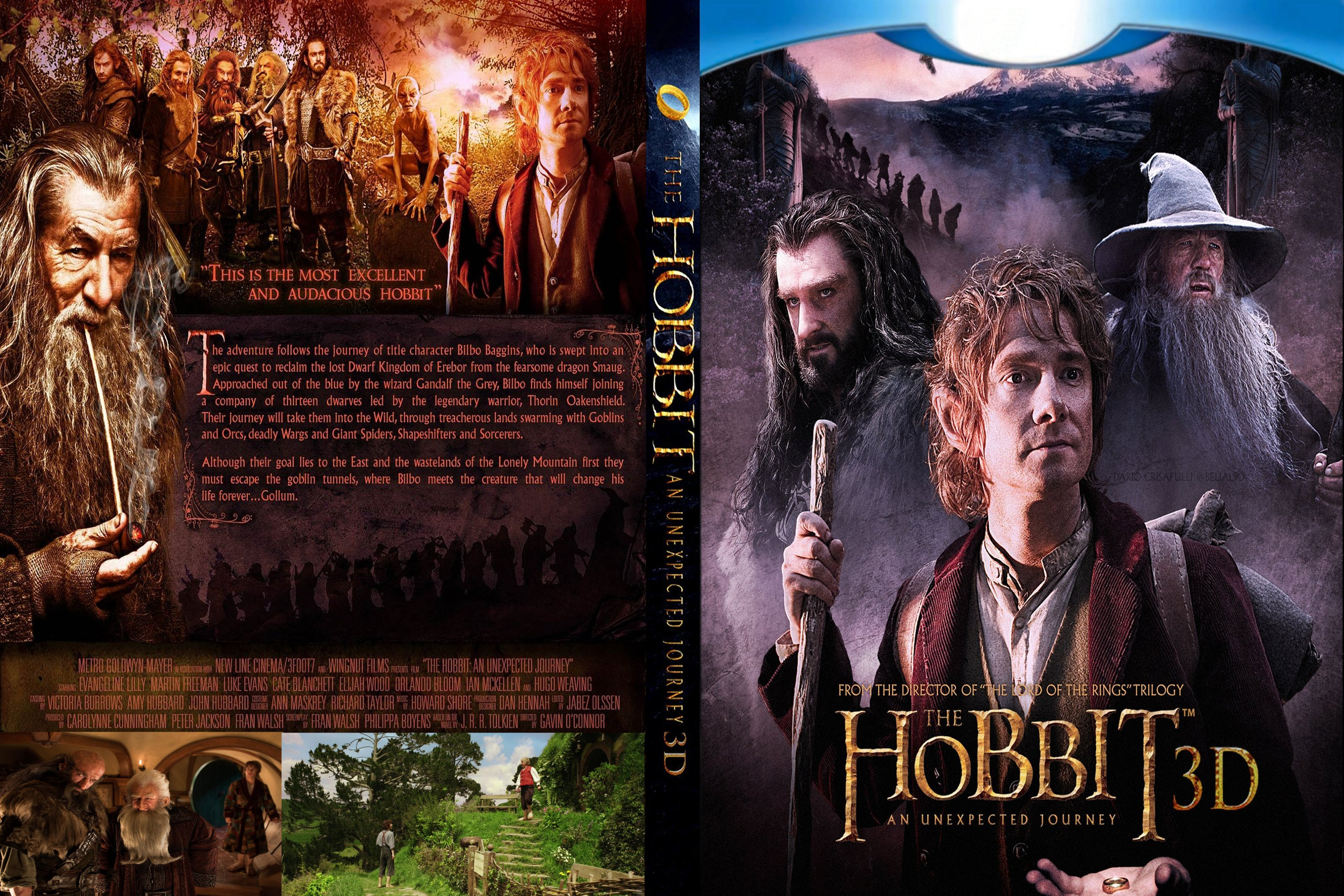 2012 The Hobbit An | Collection 14+ Wallpapers