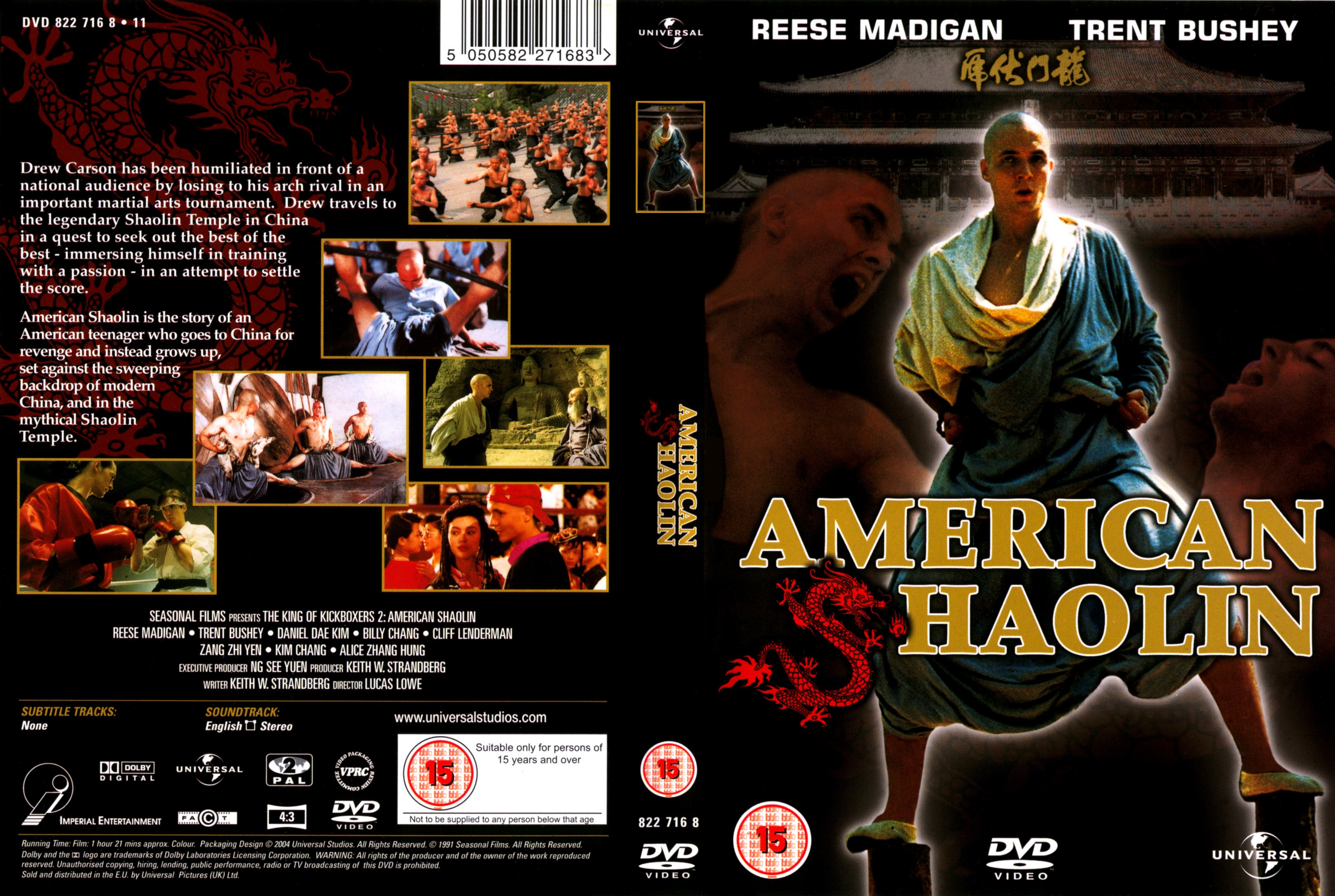 american shaolin Bill bryson meets bruce lee in this raucously funny story of one scrawny american's quest to become a kung fu master at china's legendary shaolin temple growing up a ninety-pound weakling tormented by bullies in the schoolyards of kansas, young matthew polly dreamed of one day journeying to the shaolin temple in china to become the.