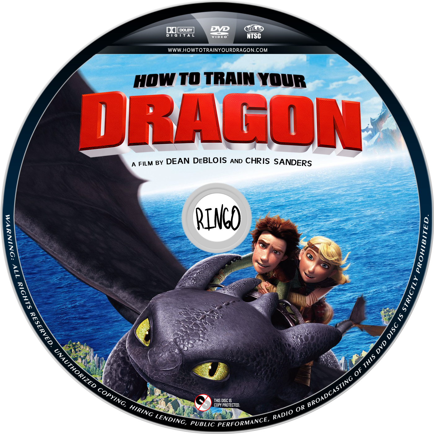 how to train your dragon 1 & 2 dvd set