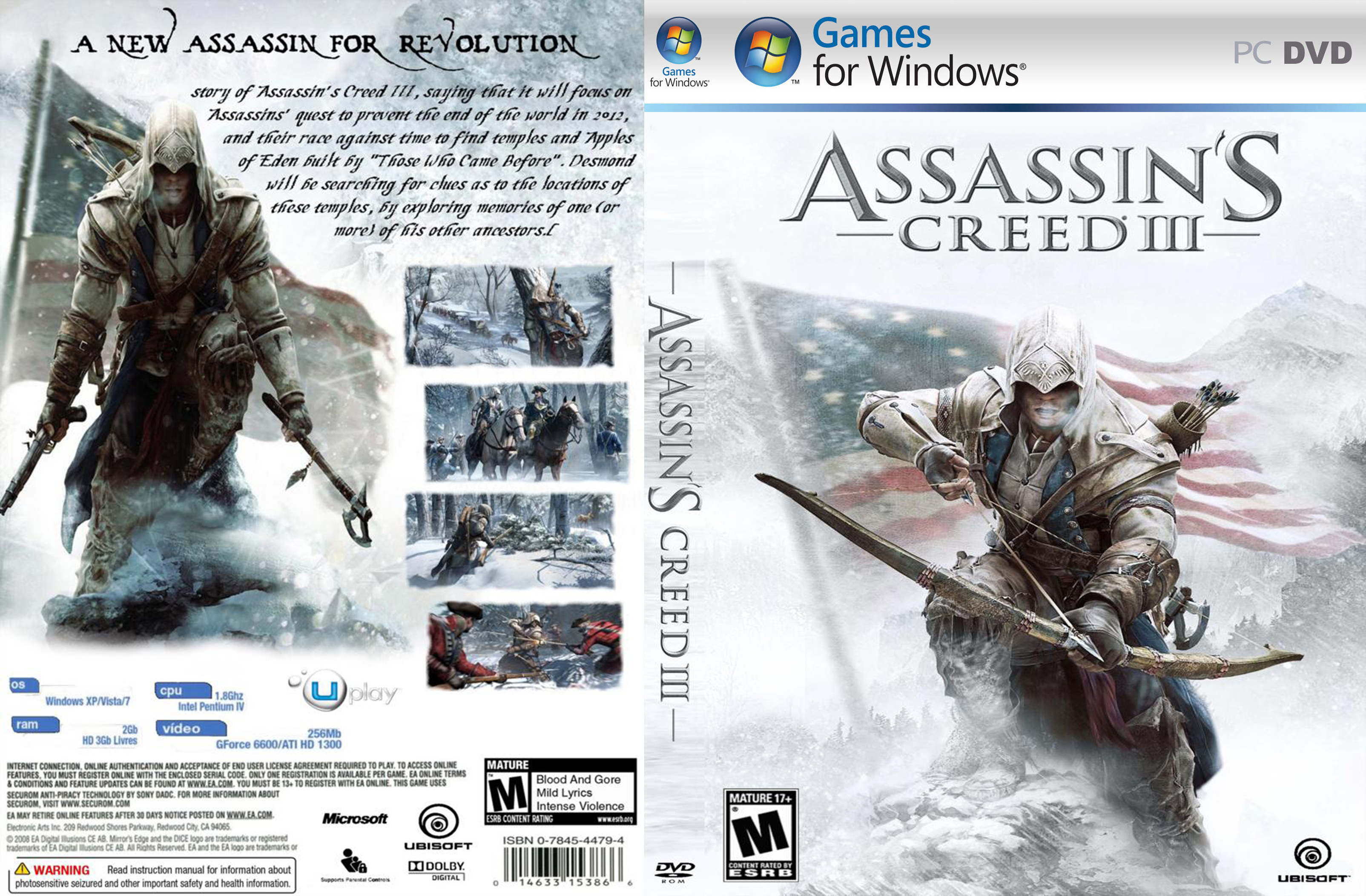 Assassins Creed 3 Multi7 Cracked-P2PSC Posted by Makawy in Search for Assas