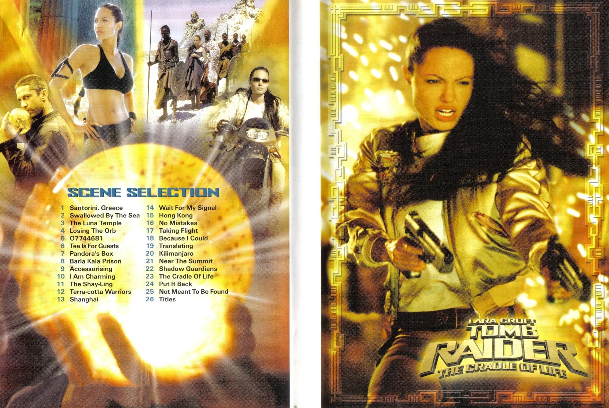 Covers Box Sk Lara Croft Tomb Raider 2 The Cradle Of Life 2003 High Quality Dvd Blueray Movie
