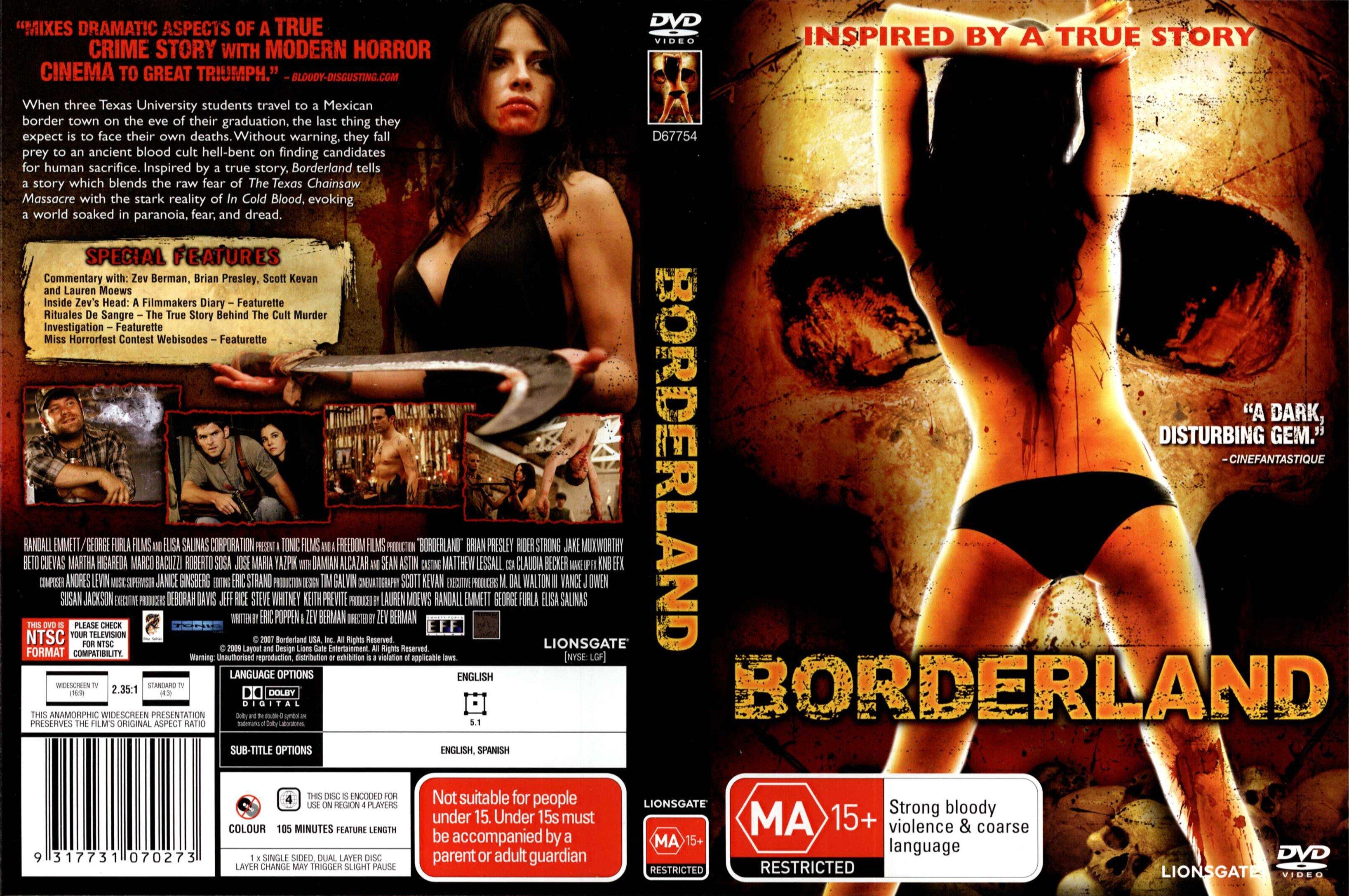 Borderland gebundener voller Film