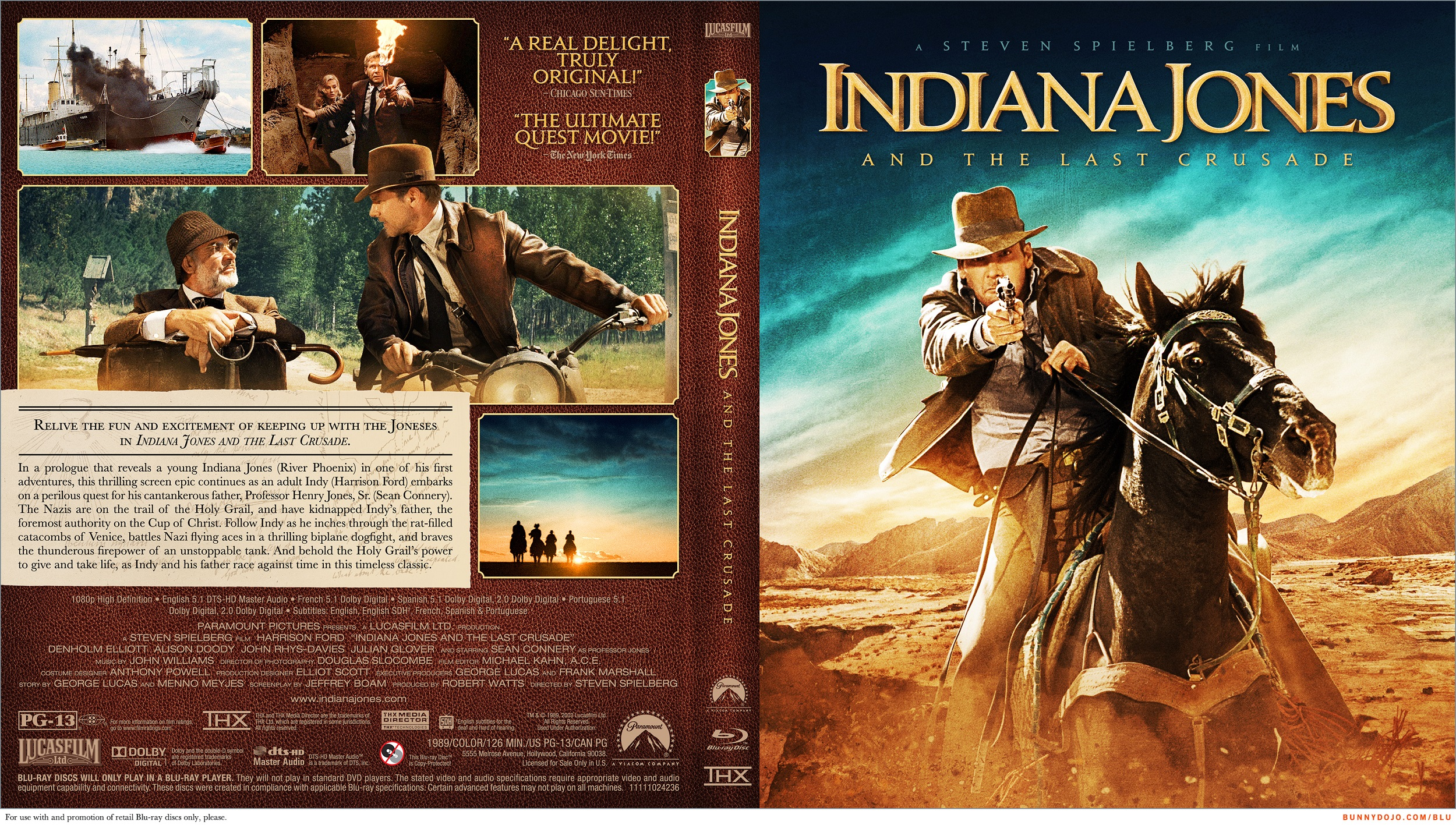 coversboxsk indiana jones and the last crusade 1989