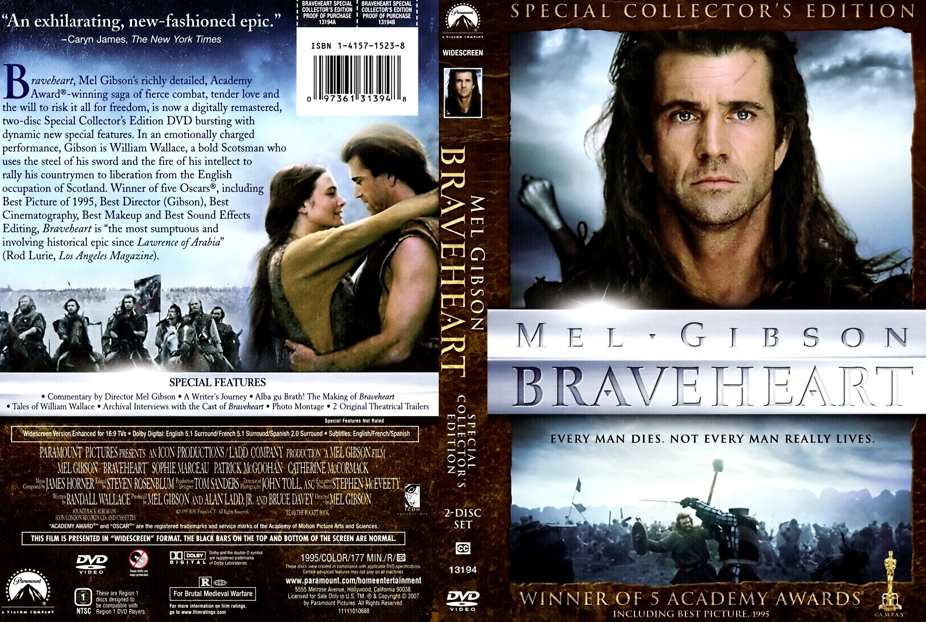 the best aspects of the movie braveheart
