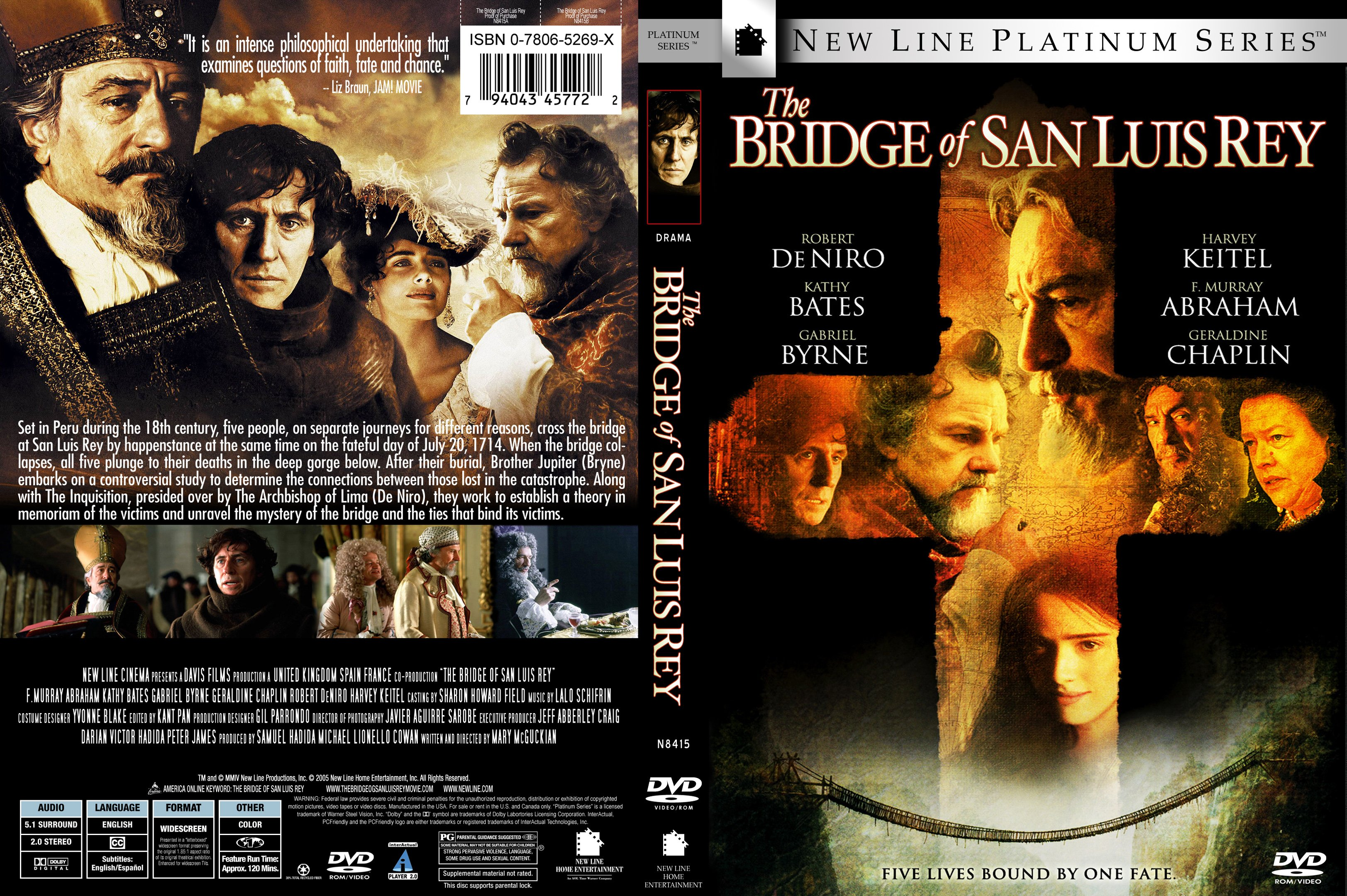 COVERS.BOX.SK ::: The Bridge Of San Luis Rey 2004 - high quality ...