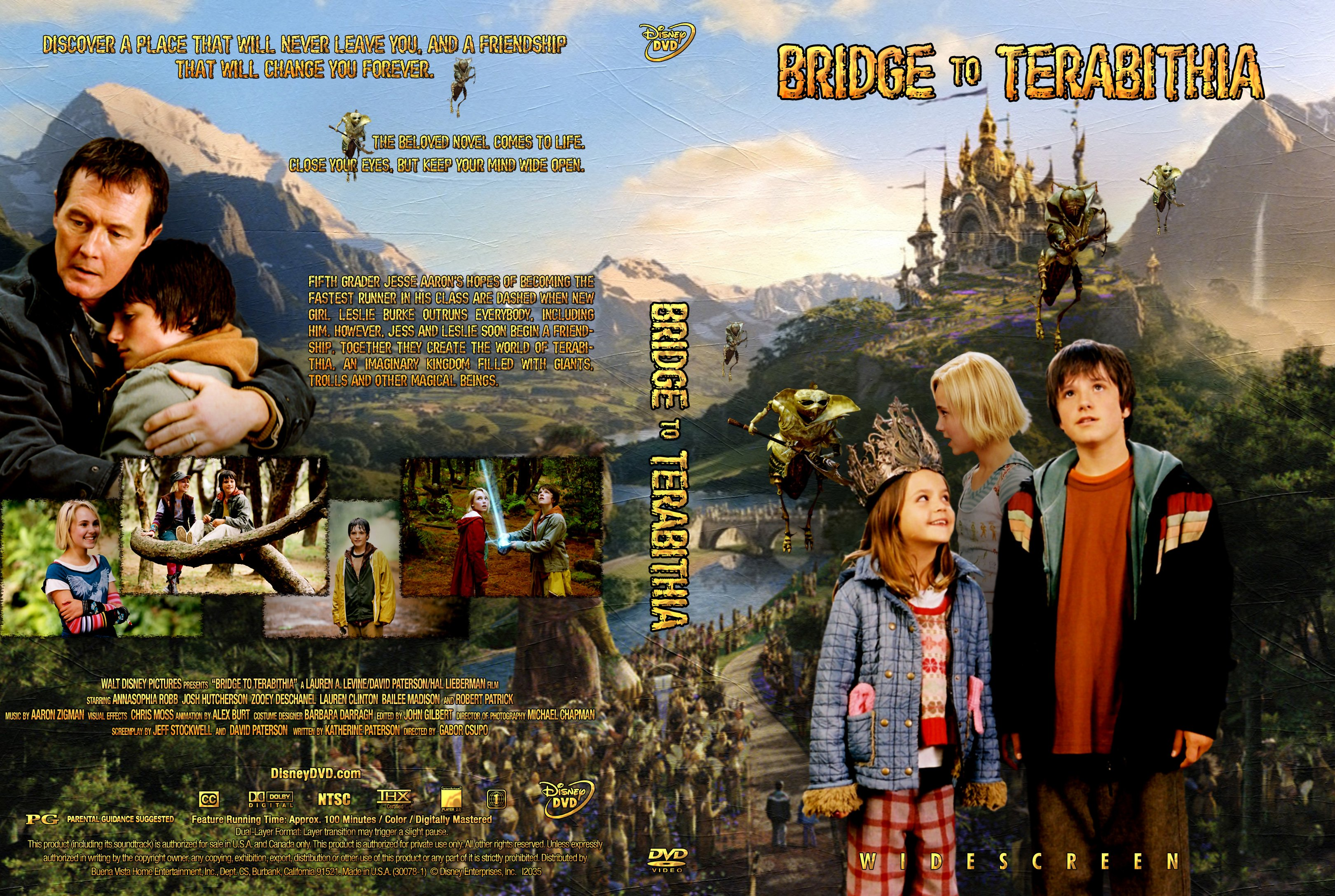 COVERS.BOX.SK ::: Bridge To Terabithia 2007 - high quality DVD ...