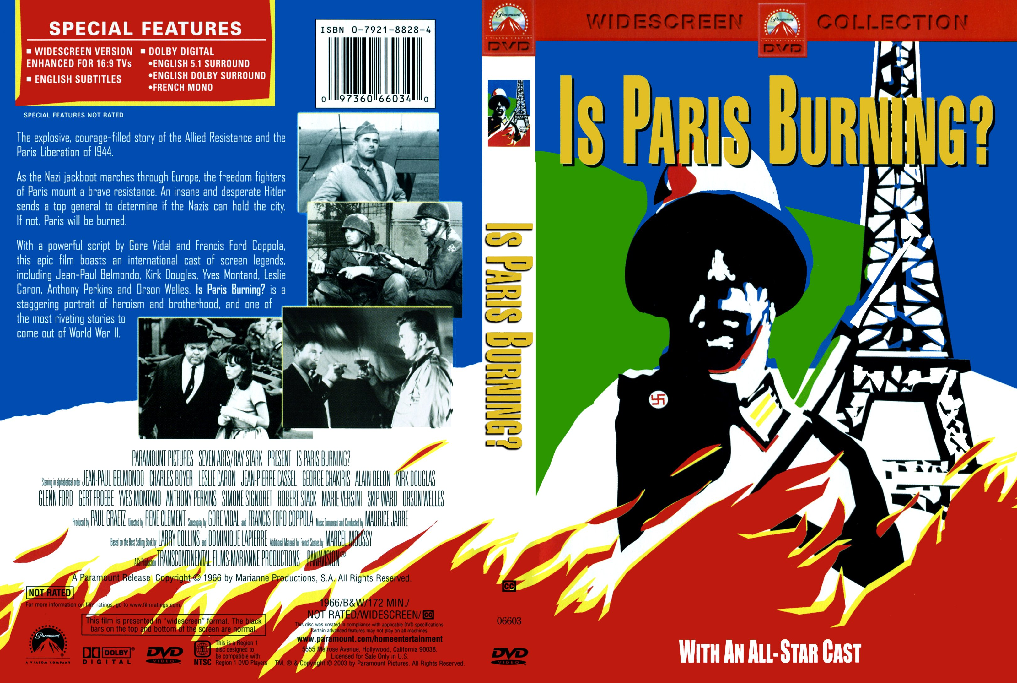Is paris burning? 1966 movie directed by réne clément from book by.