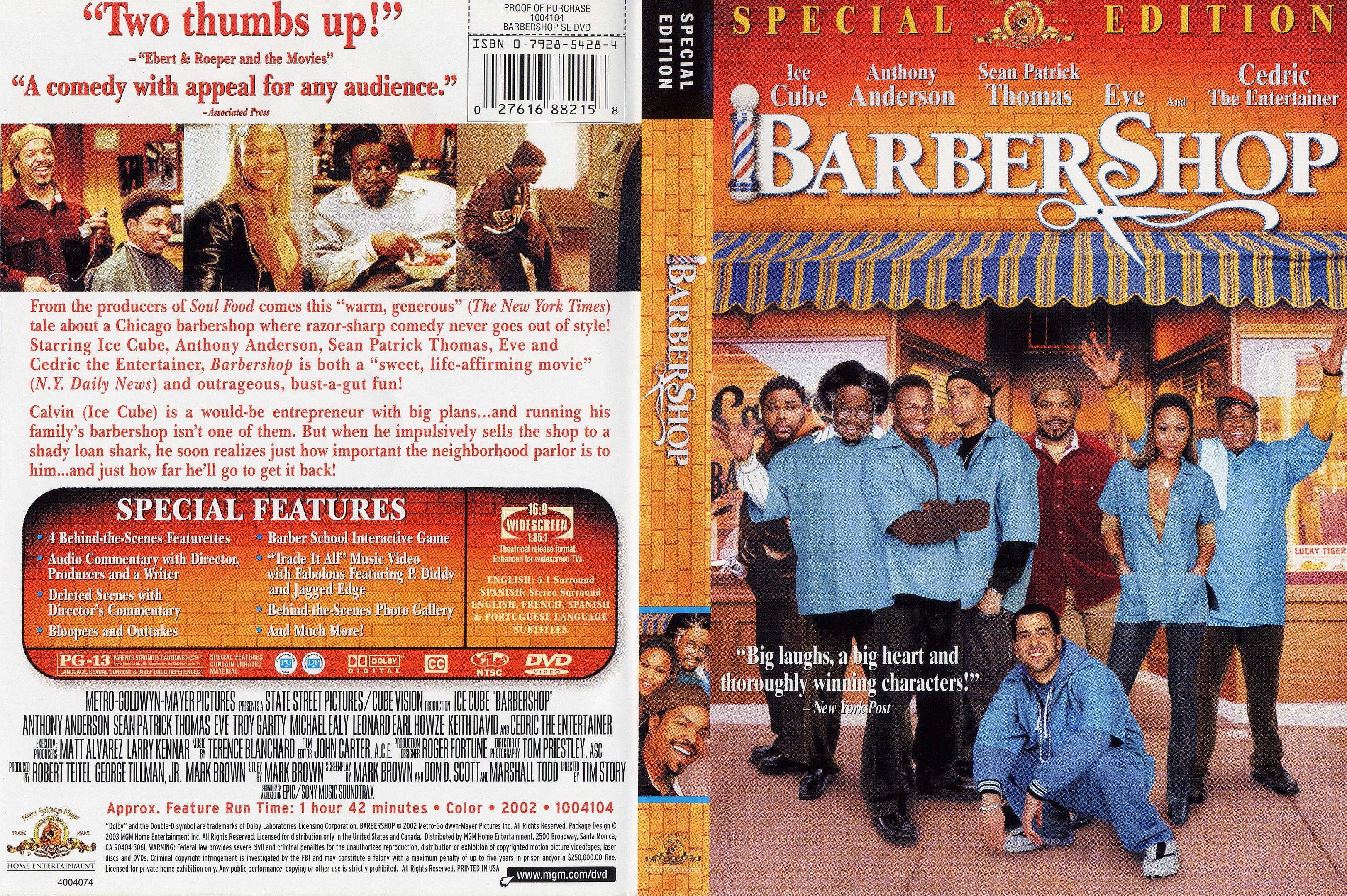 Barbershop Movie Tuny For