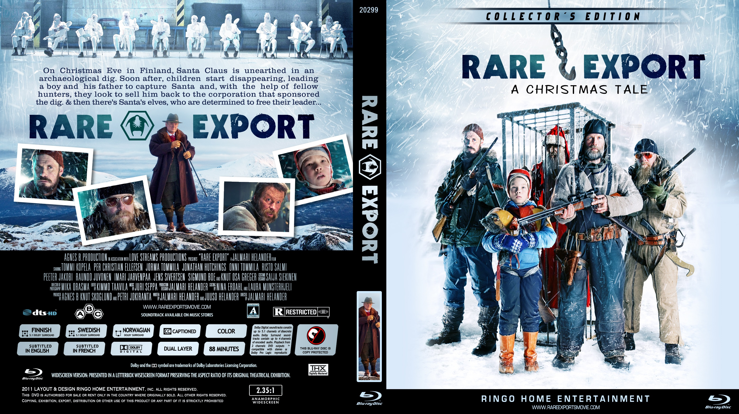 COVERS.BOX.SK ::: rare exports: a christmas tale - high quality ...