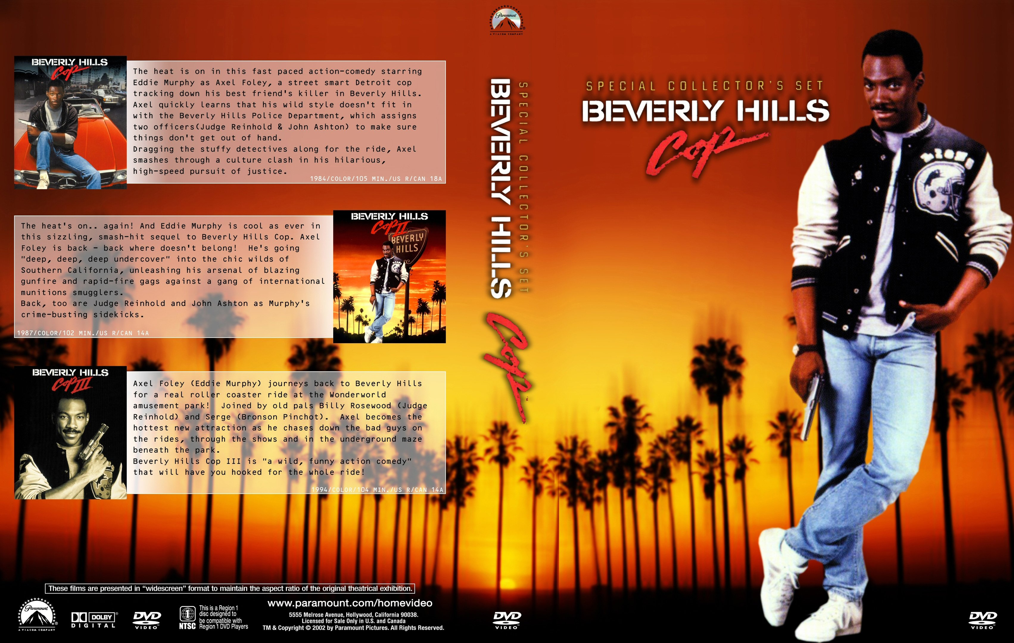 coversboxsk beverly hills cop trilogy high quality
