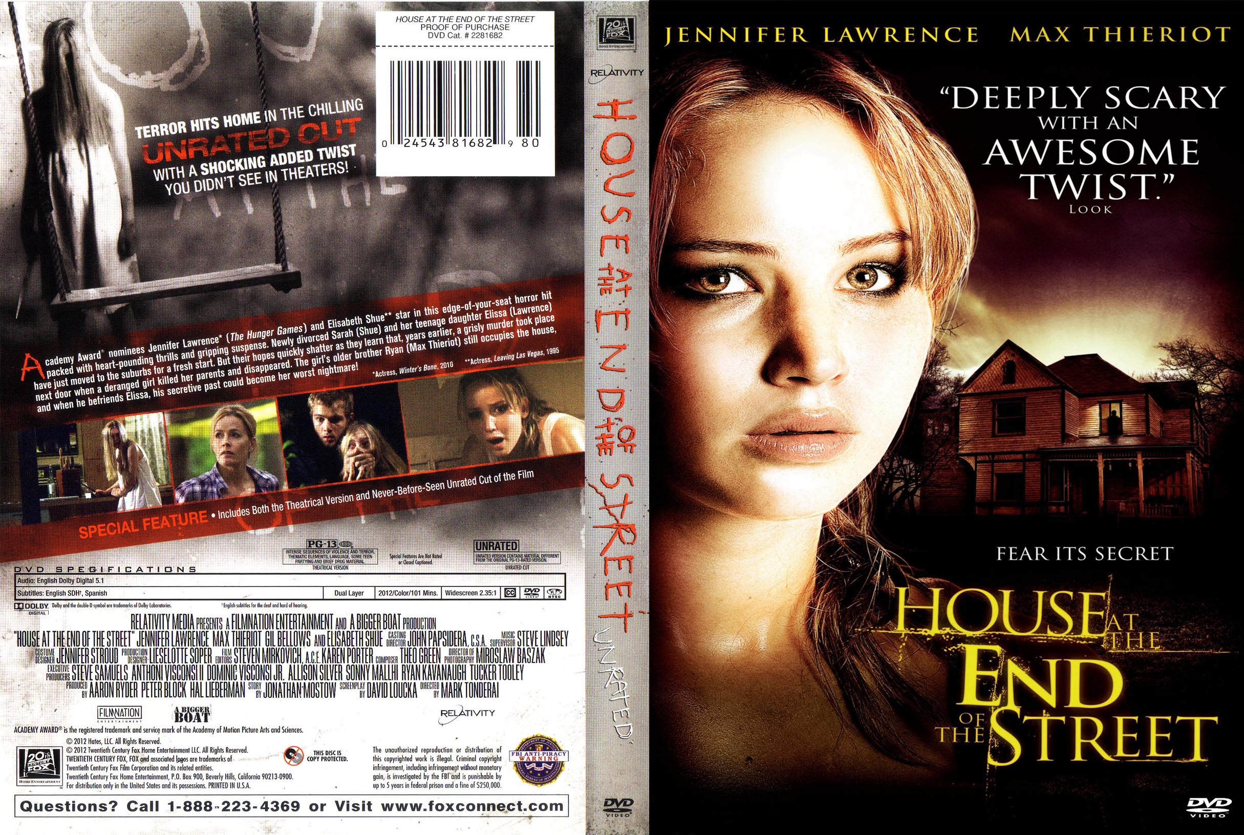 House At The End of the Street 2012 1080p