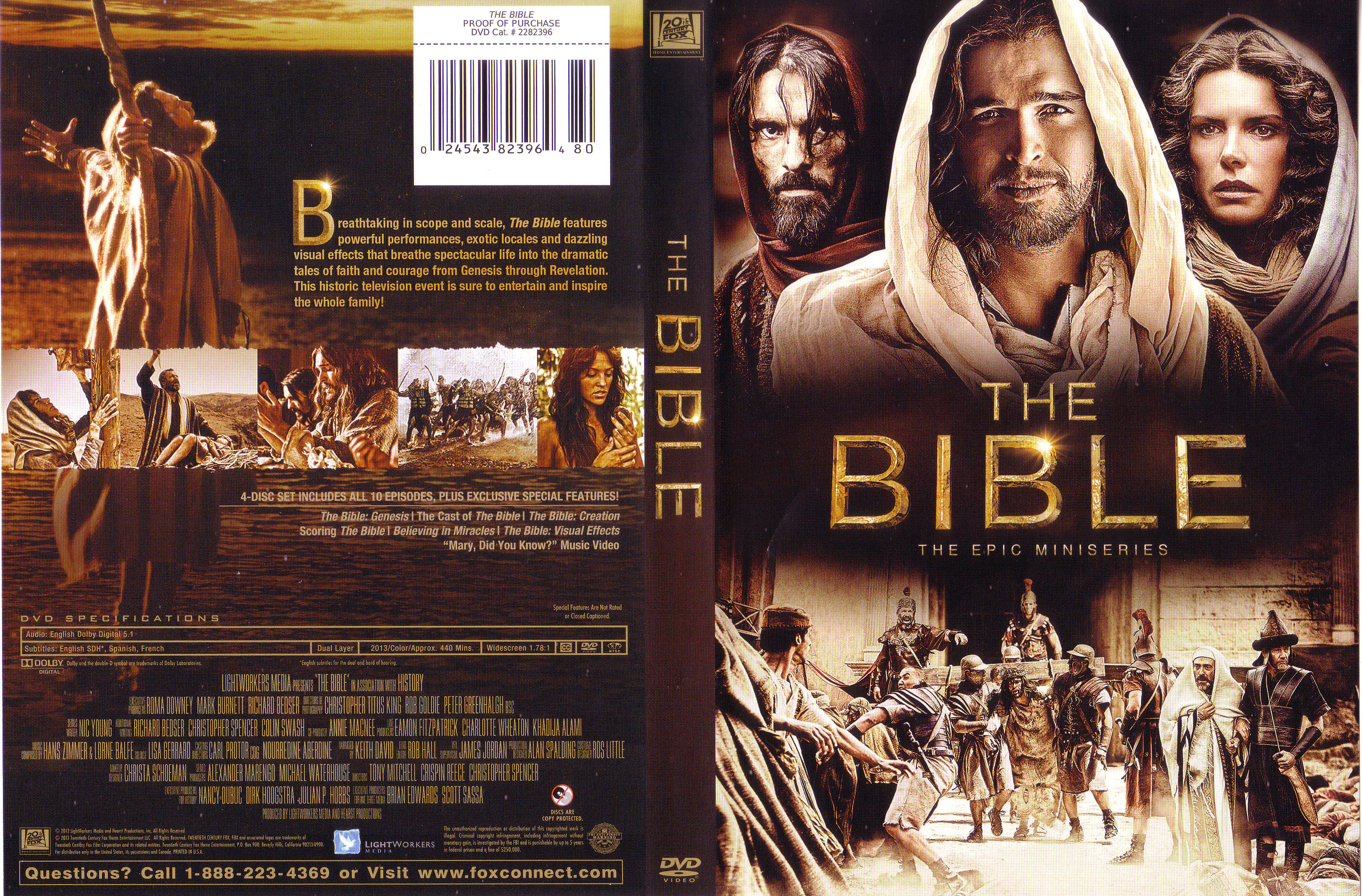 Covers box sk the bible 2013 high quality dvd blueray movie