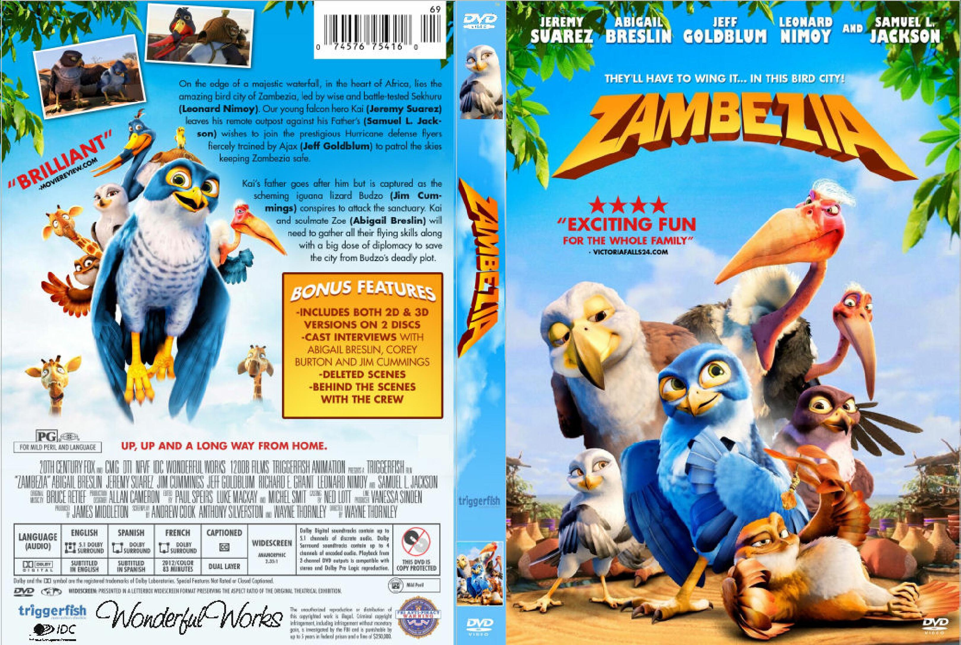 Zambezia (2012) soundtrack ost •.