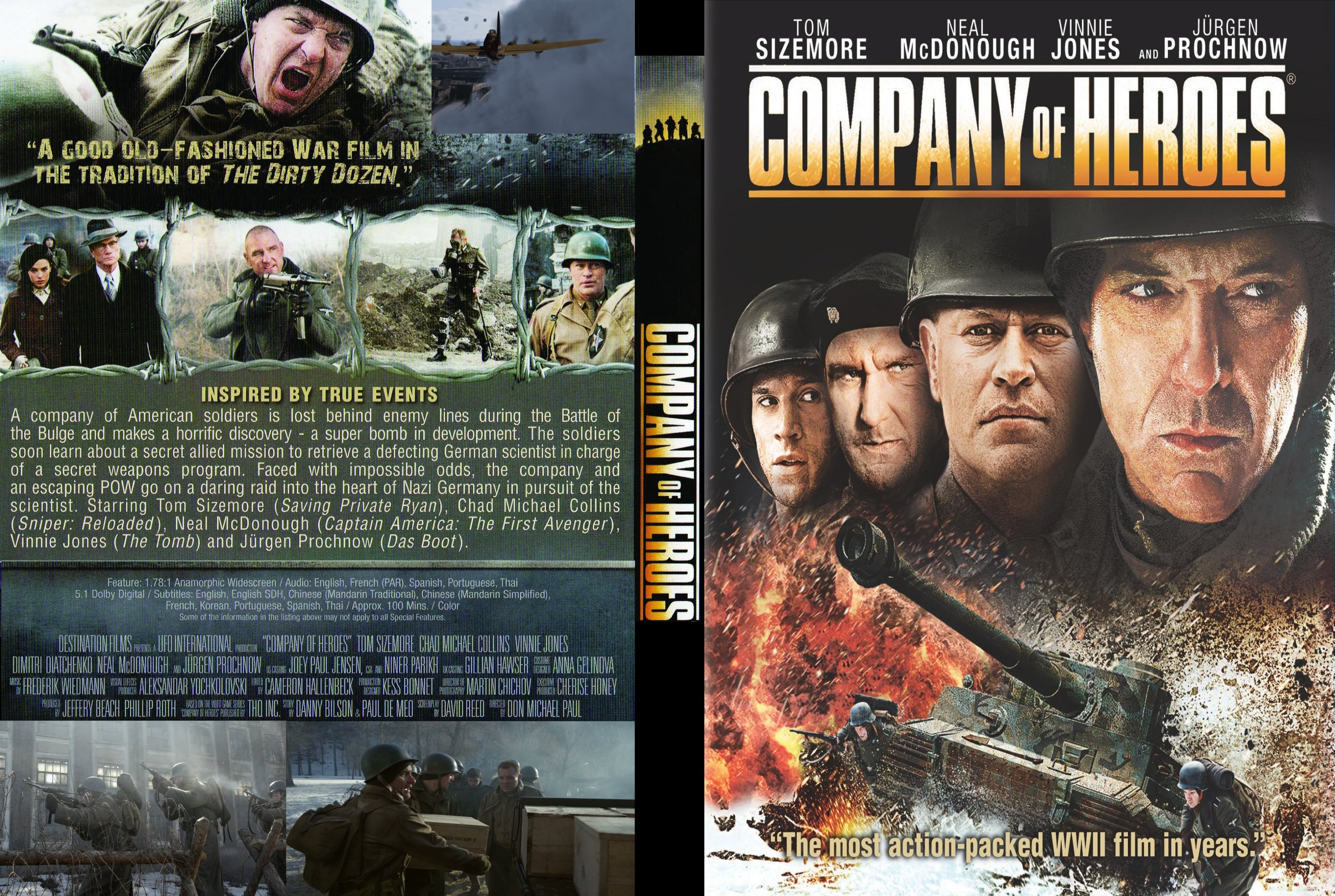 Covers Box Sk Company Of Heroes 2013 High Quality Dvd