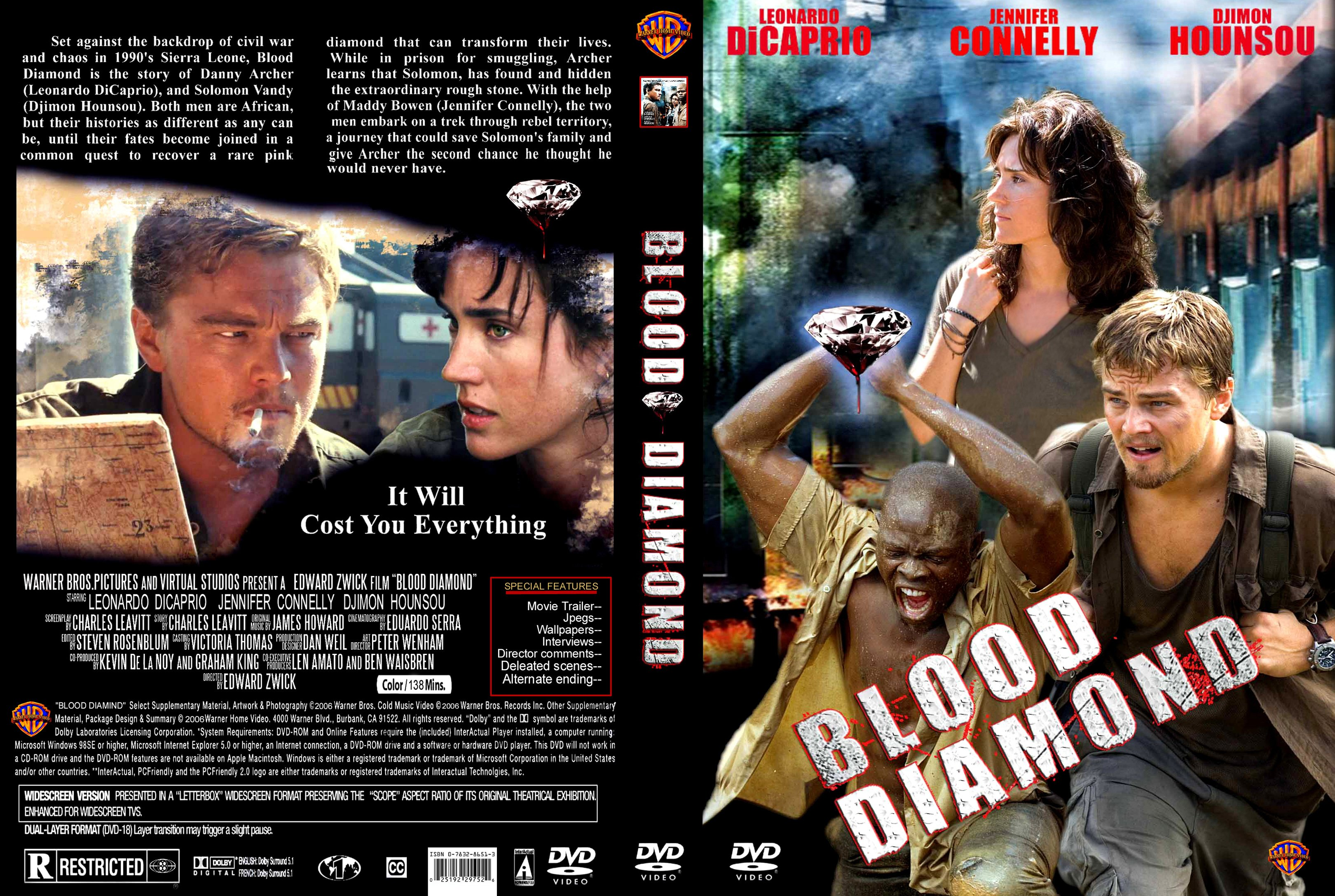 the movie blood diamond On a particularly tense morning, vandy discovers an enormous pink diamond in  the riverbank and buries it in the soft earth captain poison learns of the stone,.