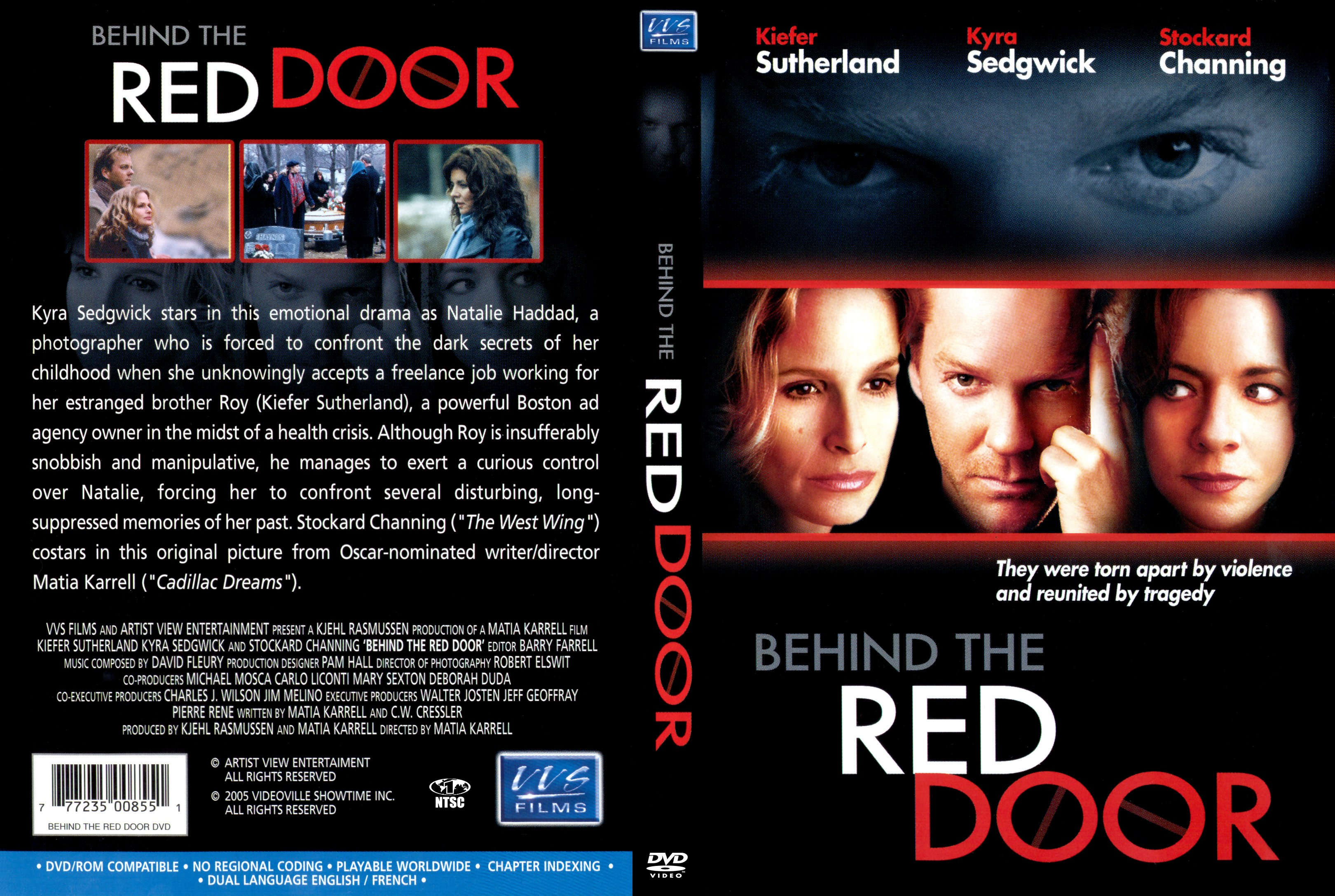 Coversx Behind The Red Door 2003 High Quality Dvd