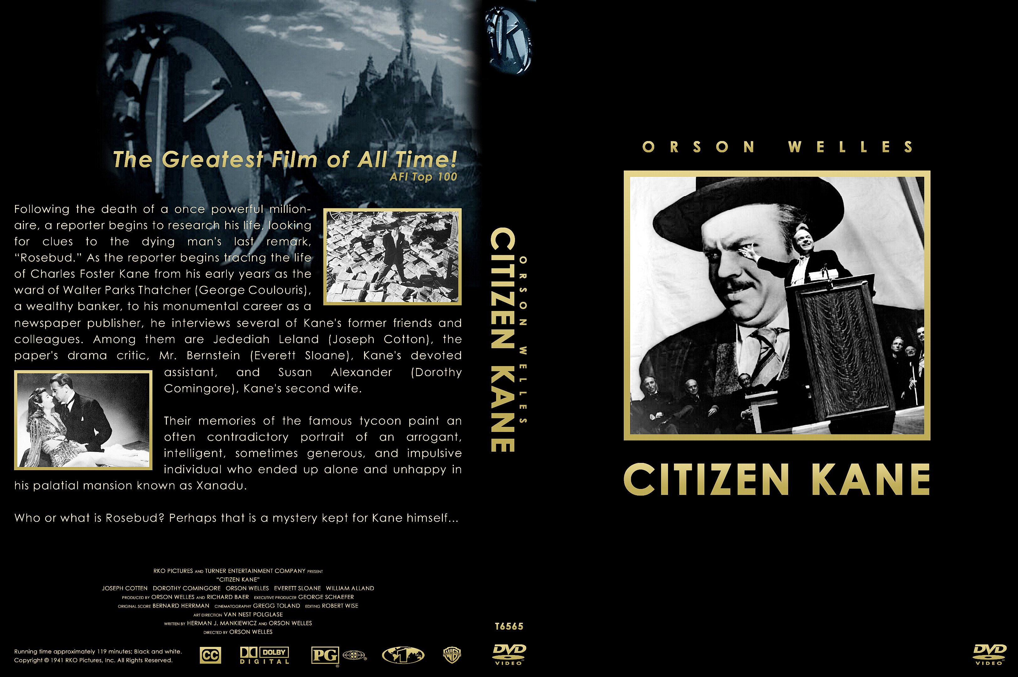 an analysis of symbolism in citizen kane A summary of filmic elements in 's citizen kane analysis of major susan alexander kane themes, motifs, and symbols + film analysis the authorship controversy.