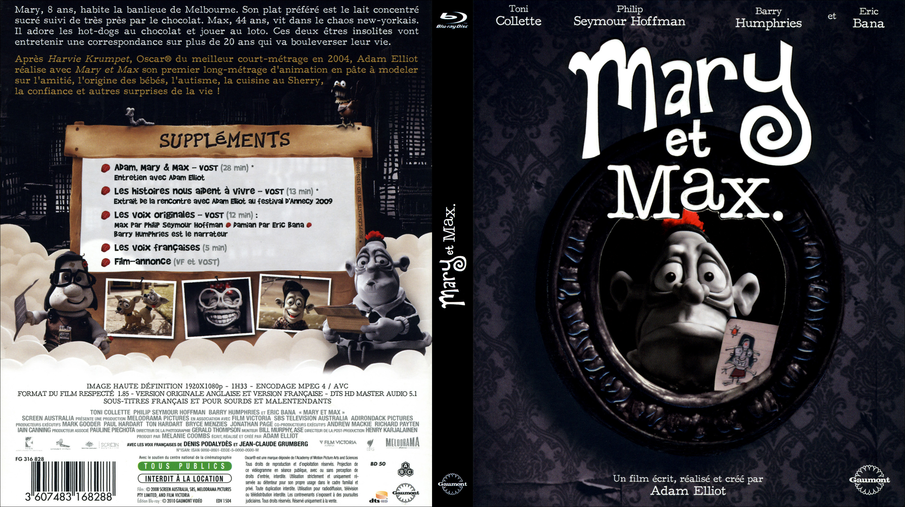 Covers Box Sk Mary And Max 2009 Imdb Dl High Quality Dvd Blueray Movie