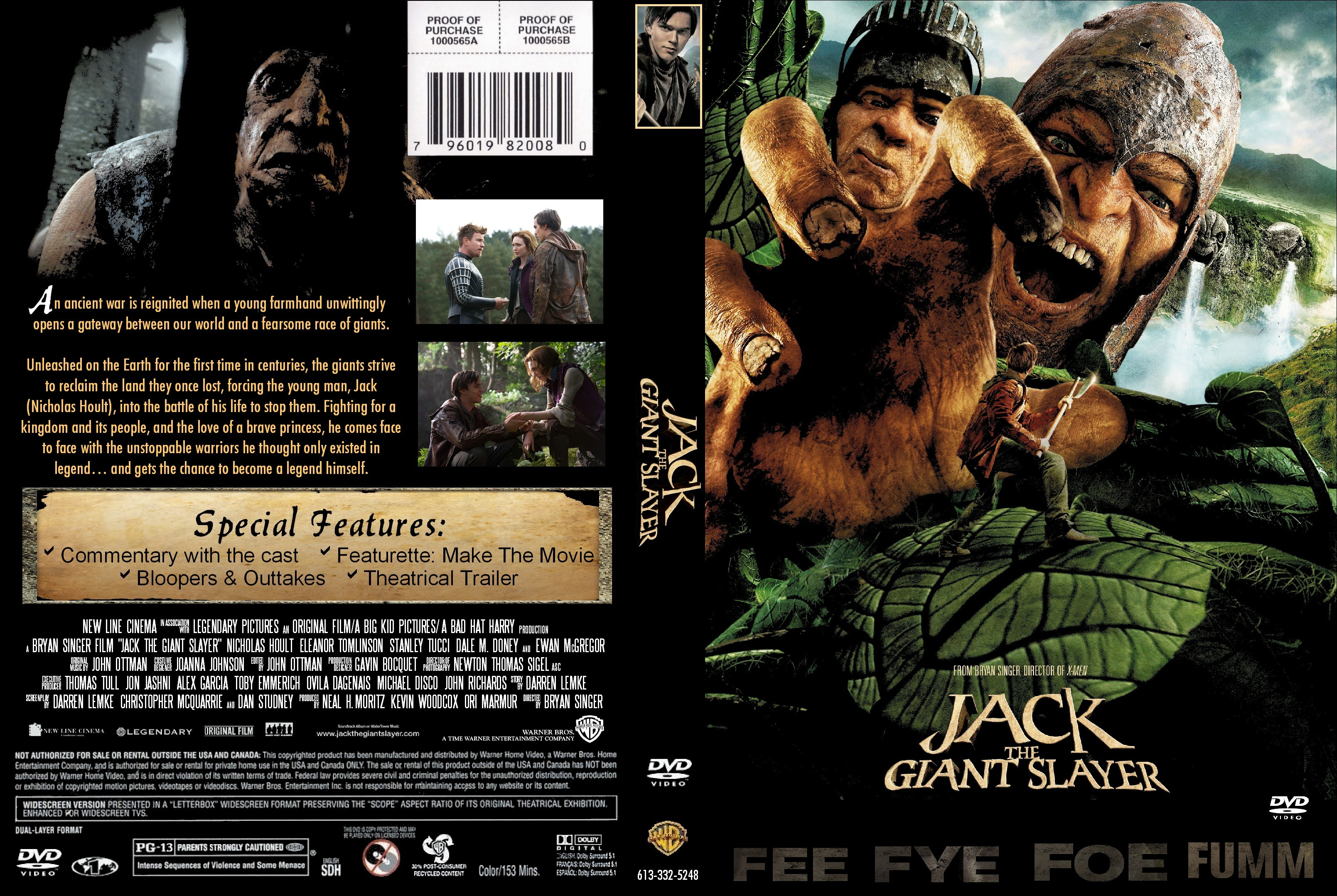 Covers Box Sk Jack The Giant Slayer 2013 High Quality Dvd Blueray Movie
