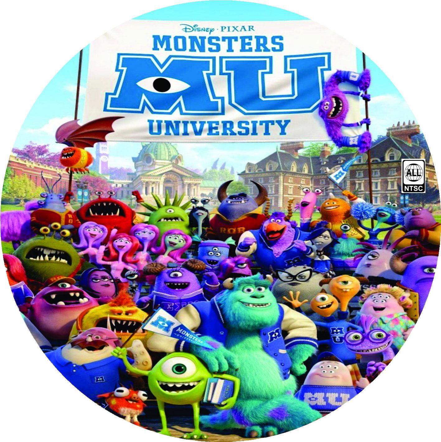 COVERS.BOX.SK ::: monster university - high quality DVD ...