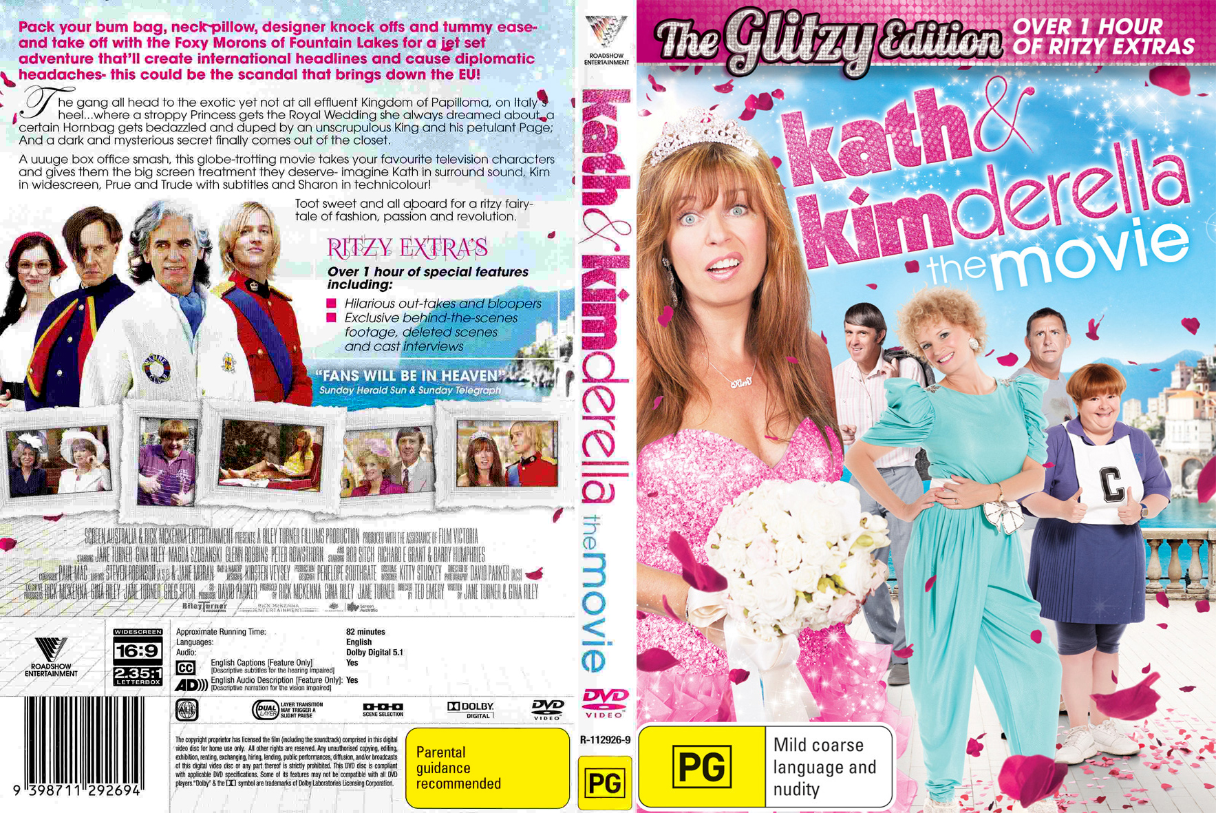 Kim at premiere kath & kimderella at village cinemas fountain gate.