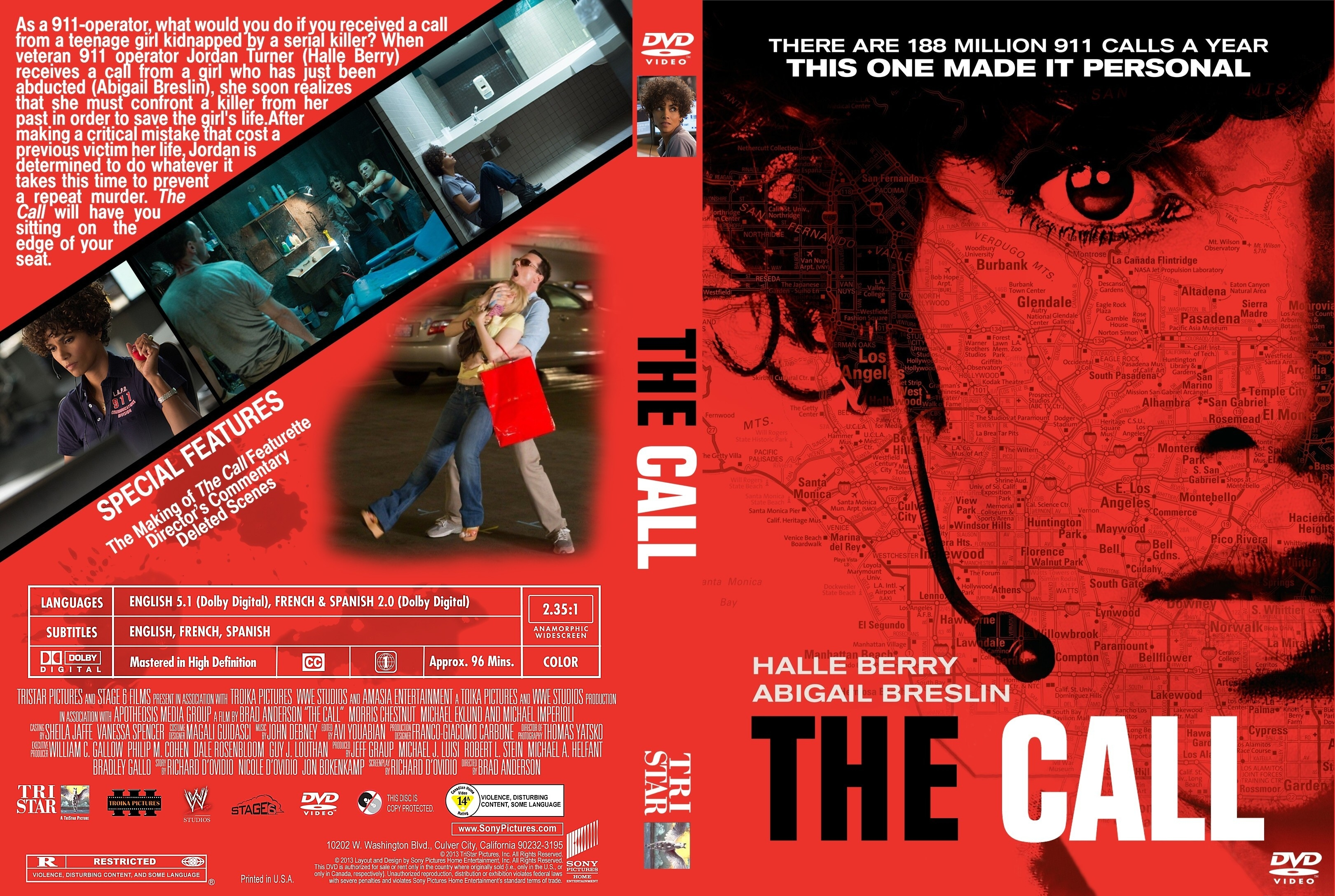 The Call Dvd Front Cover Covers Hut