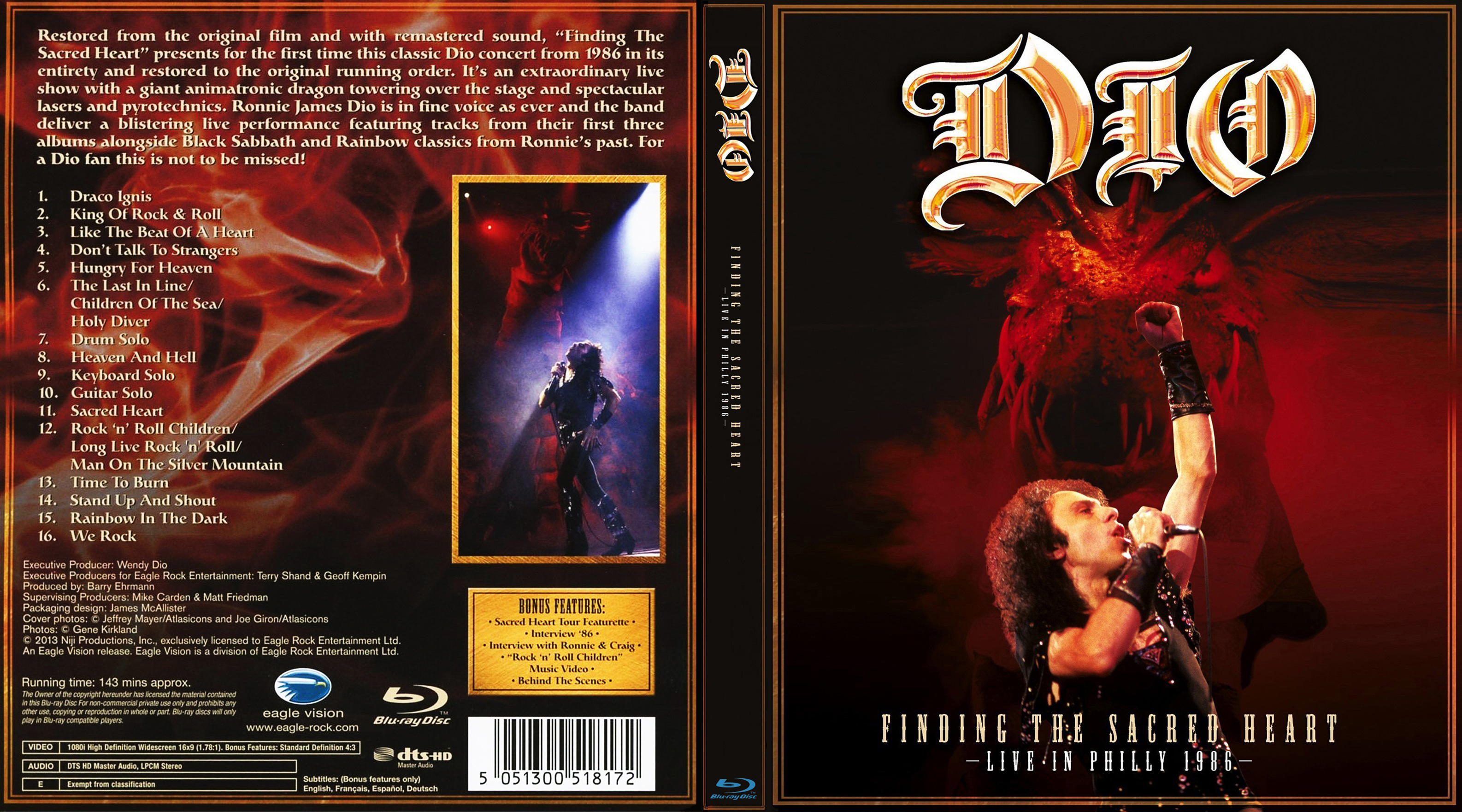 DIO: Finding The Sacred Heart - Live In Philly 1986 Max1371401801-front-cover