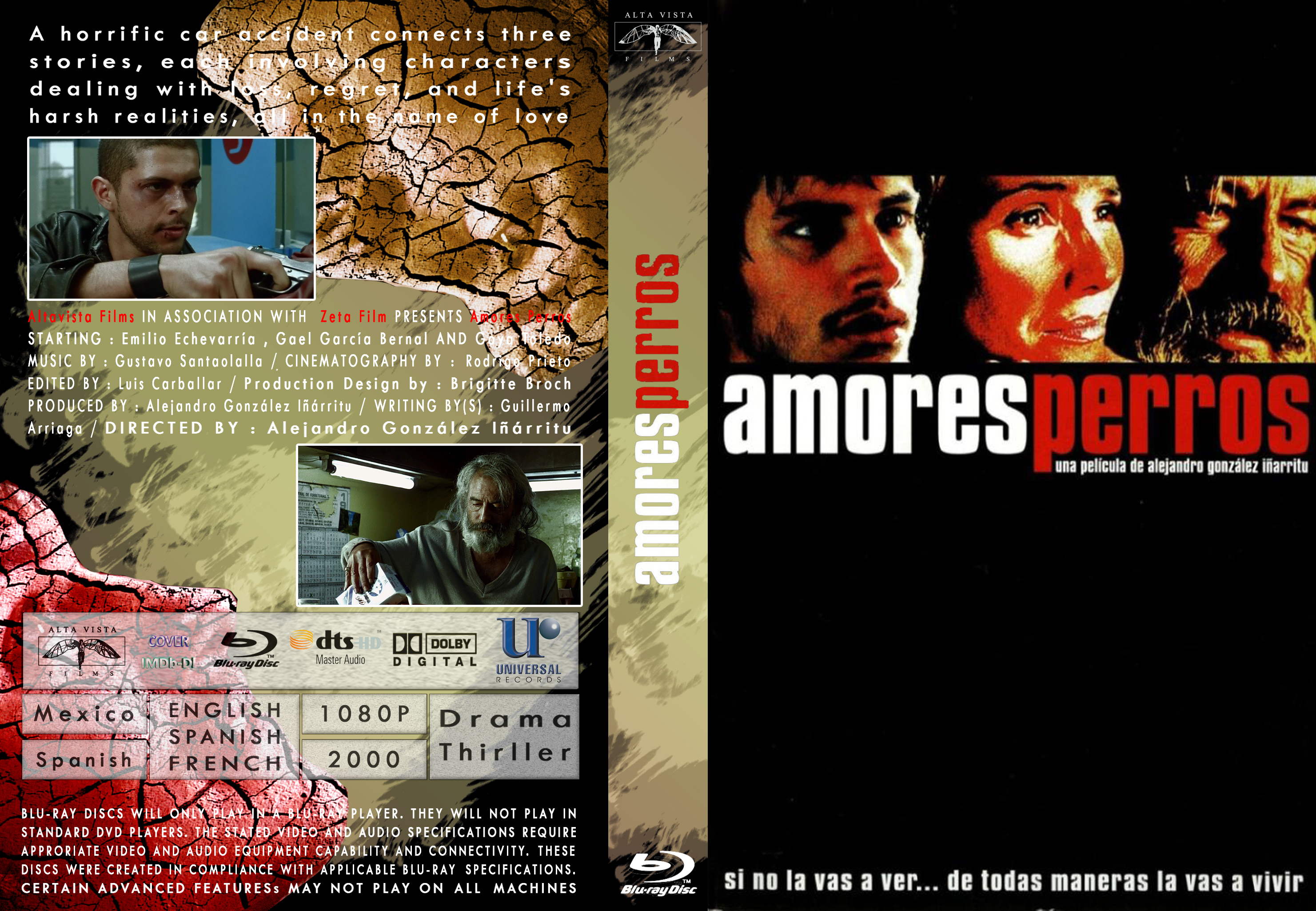 Amores Perros 2000 covers.box.sk ::: amores perros 2000 [ imdb-dl ] - high