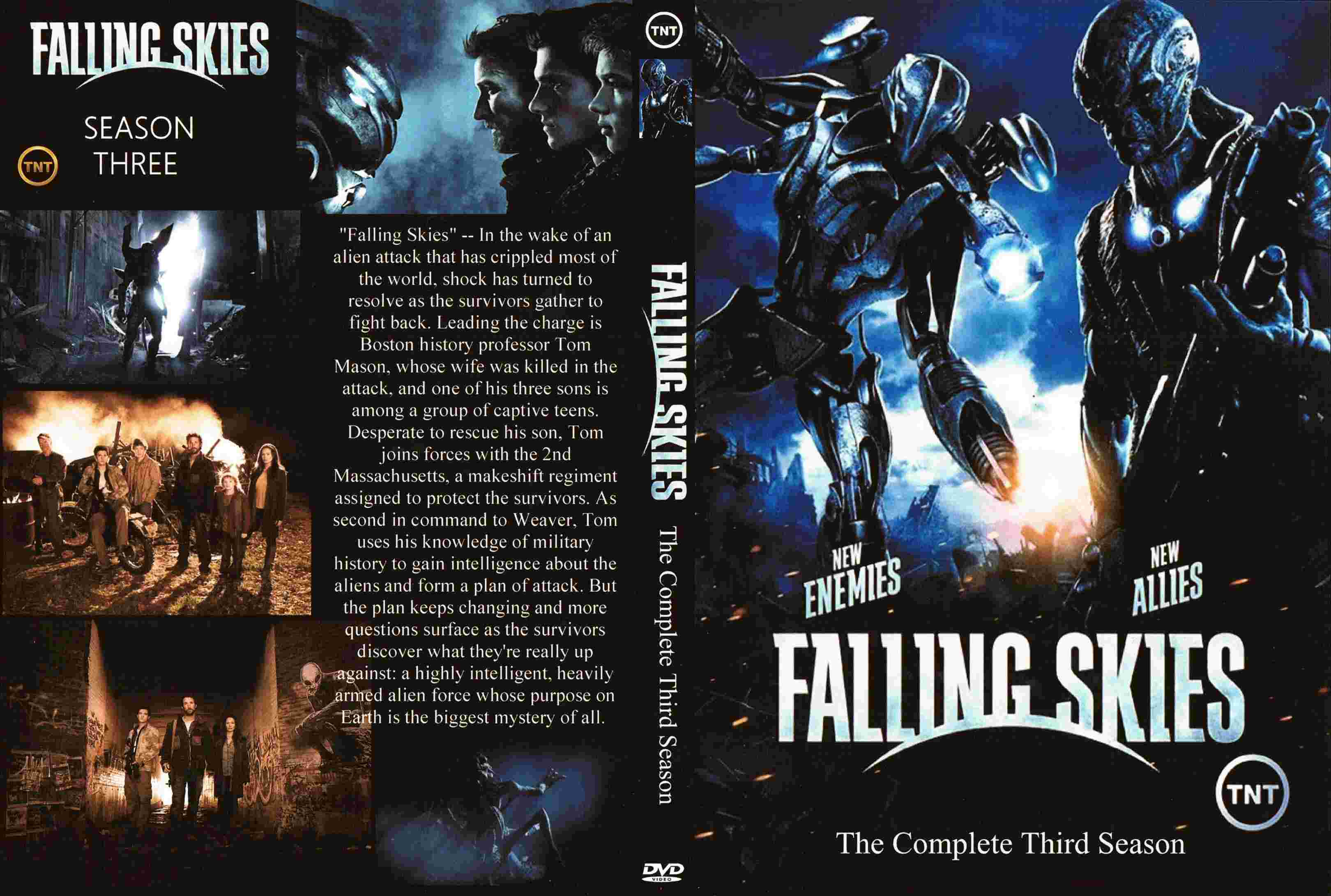 COVERS.BOX.SK ::: Falling Skies Season 3 - high quality DVD ...