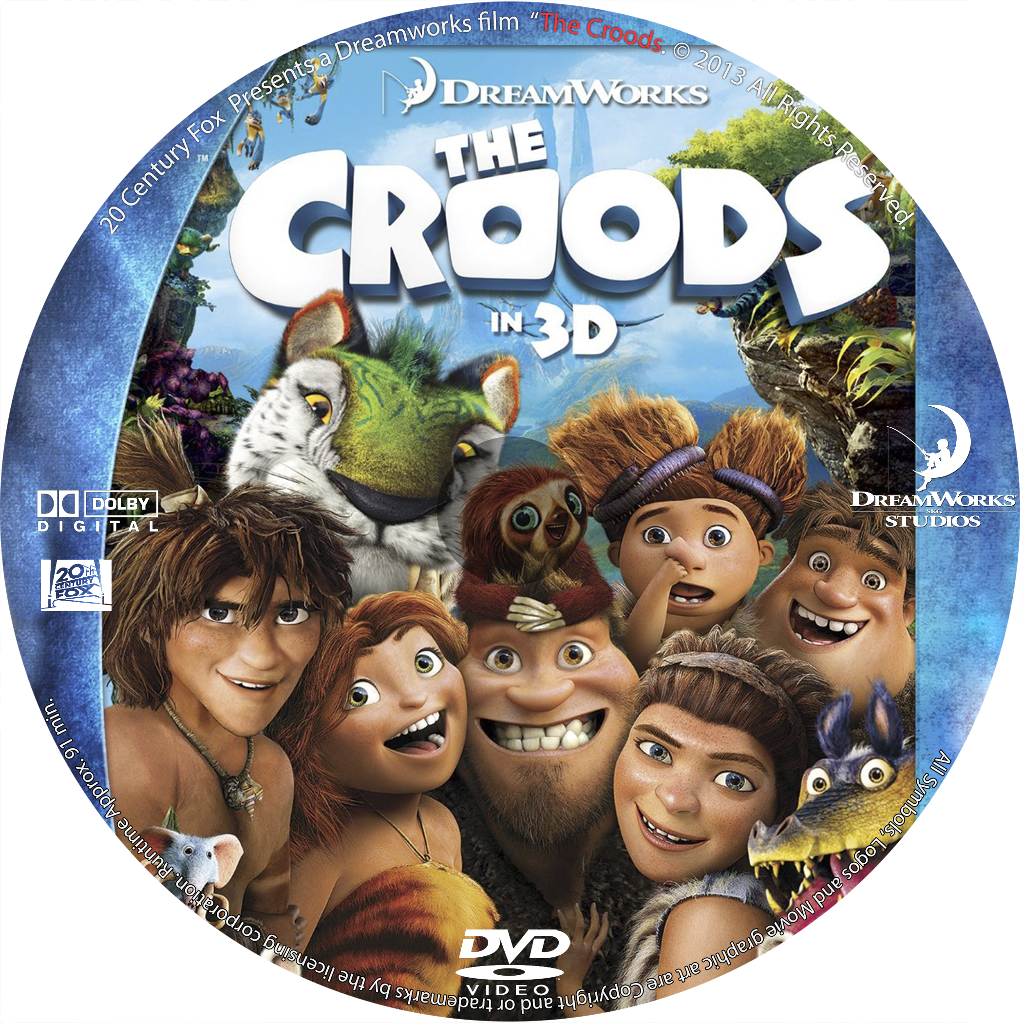The Croods 2 Movie: COVERS.BOX.SK ::: The Croods (2013)