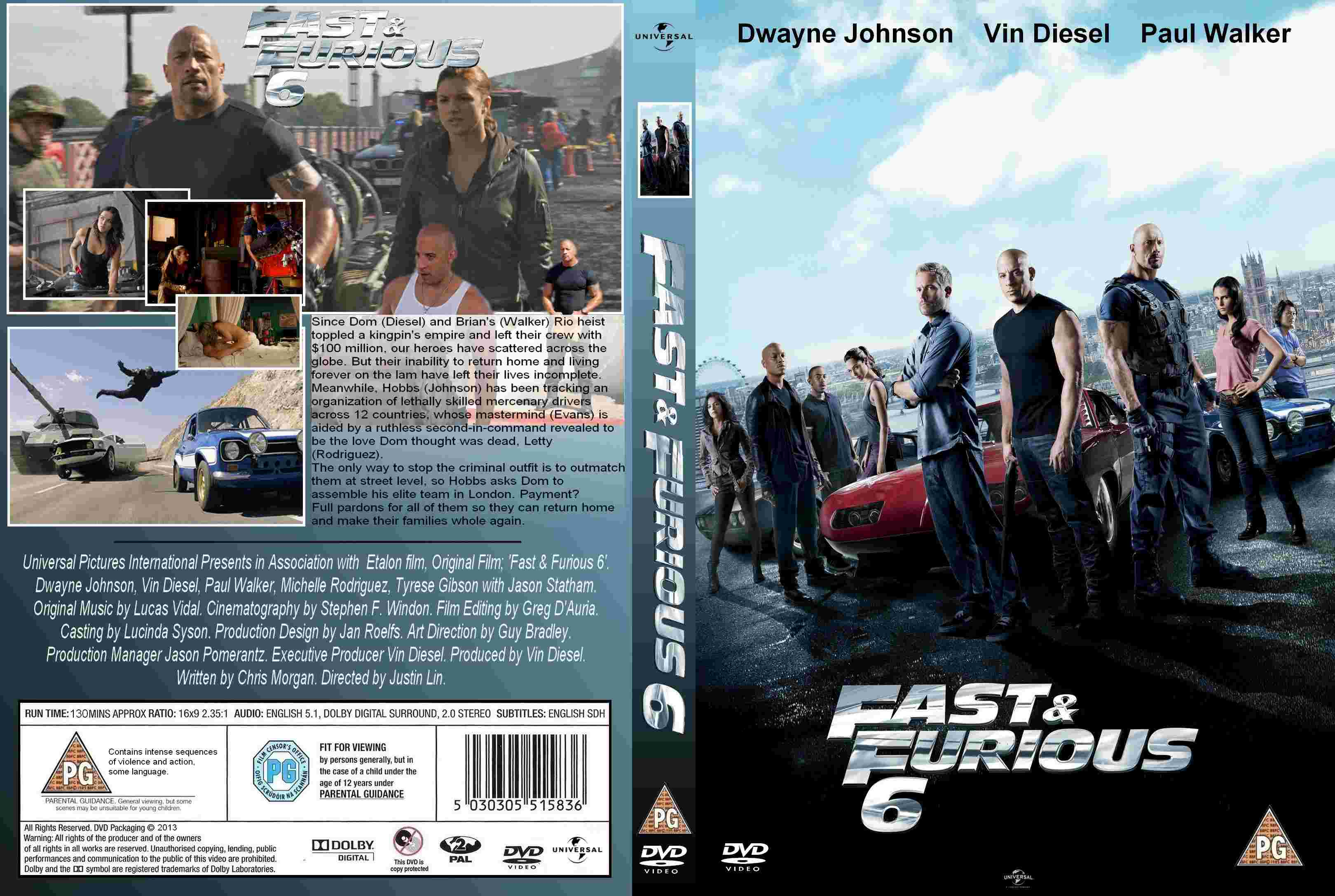 fast and the furious 6 dvd the image kid has it. Black Bedroom Furniture Sets. Home Design Ideas