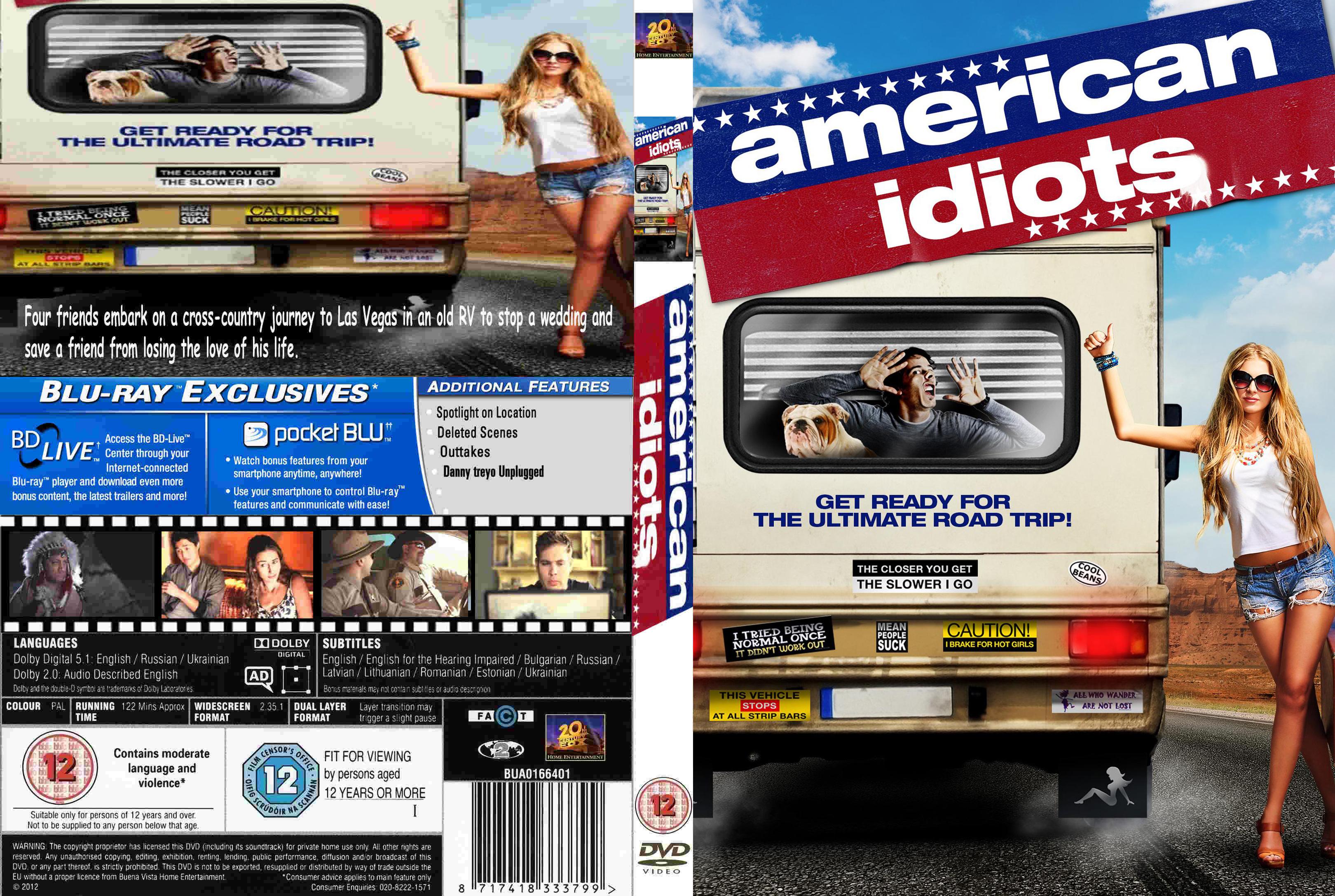 American Idiots 2013 covers.box.sk ::: american idiots - high quality dvd