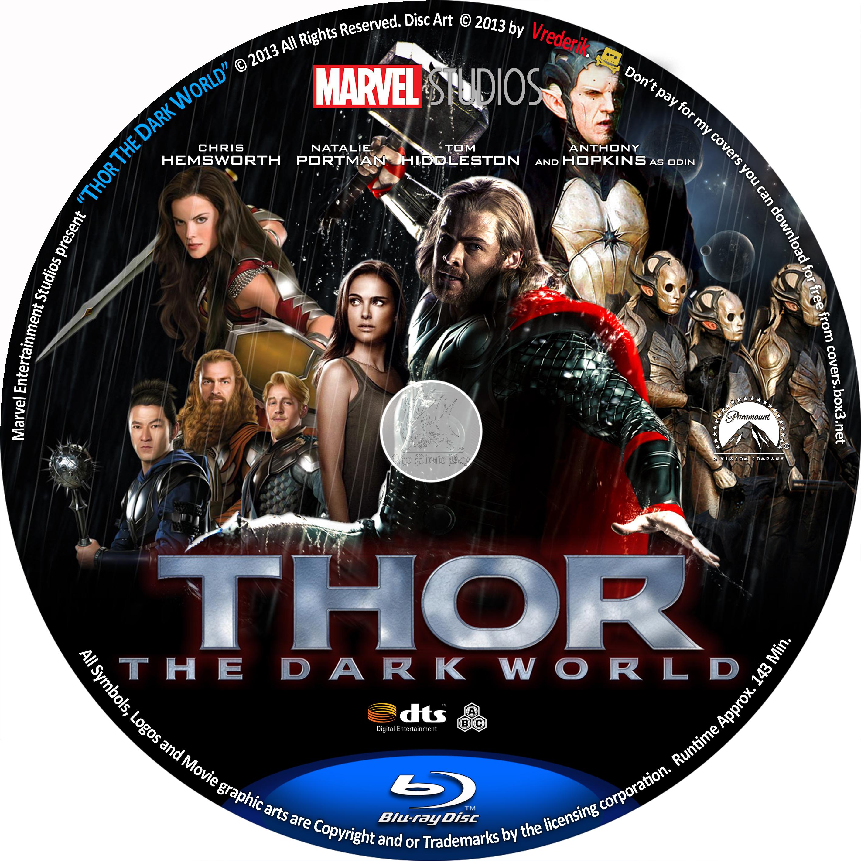 Thor The Dark World Blu Ray Cover | www.pixshark.com ...