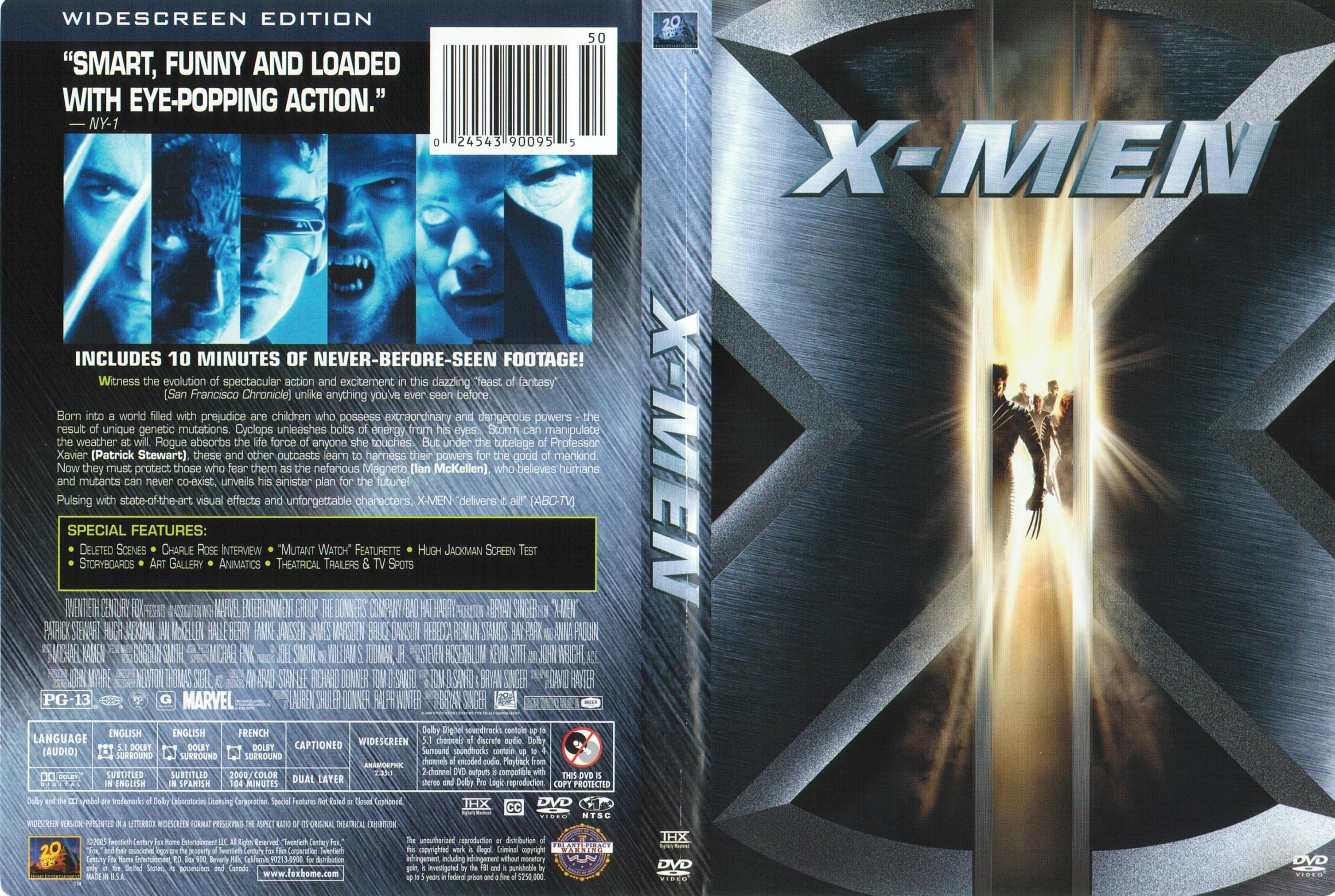 x men 1 dvd cover wwwimgkidcom the image kid has it