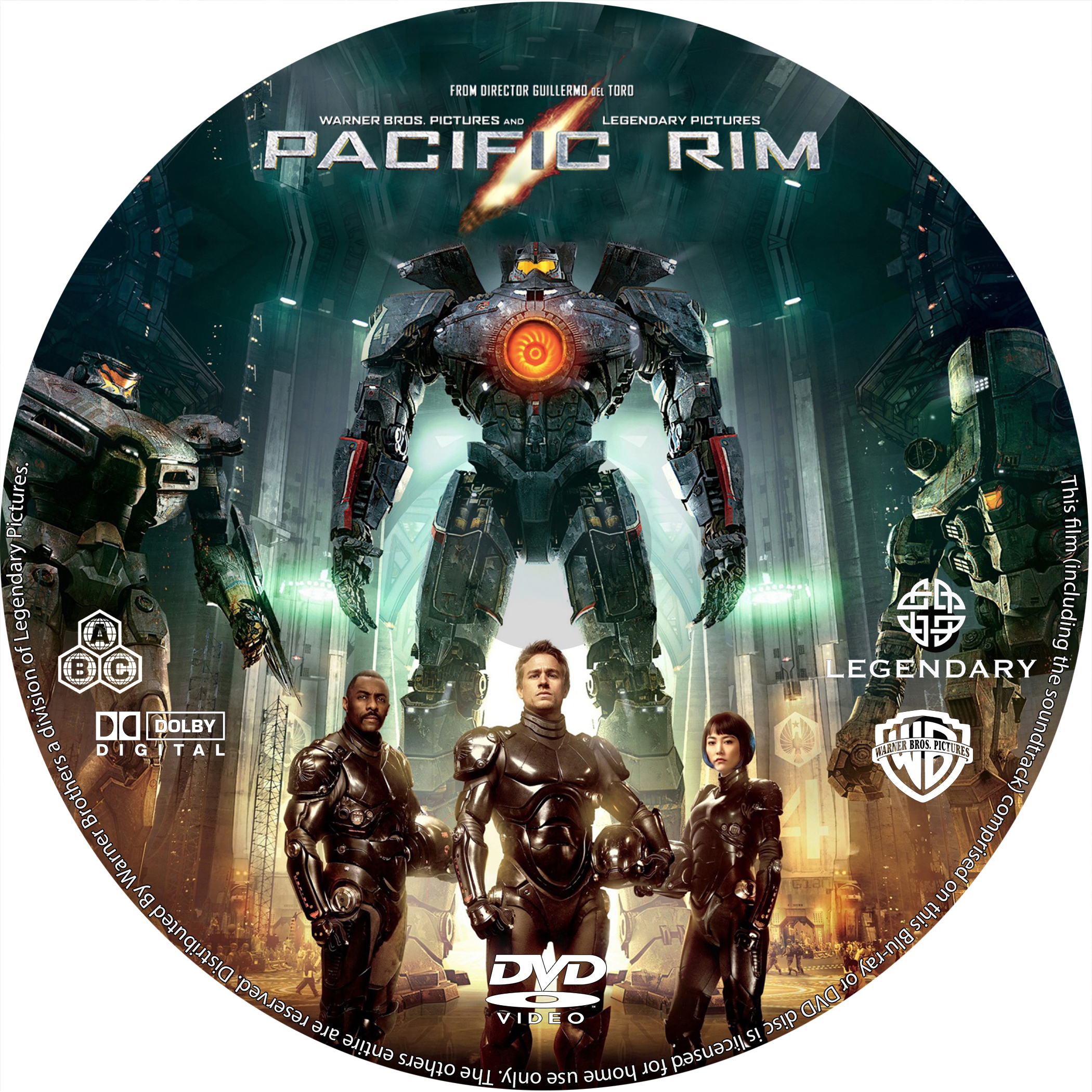 COVERS.BOX.SK ::: Pacific Rim (2013) - high quality DVD / Blueray ... Pacific Rim 2013 Dvd Cover