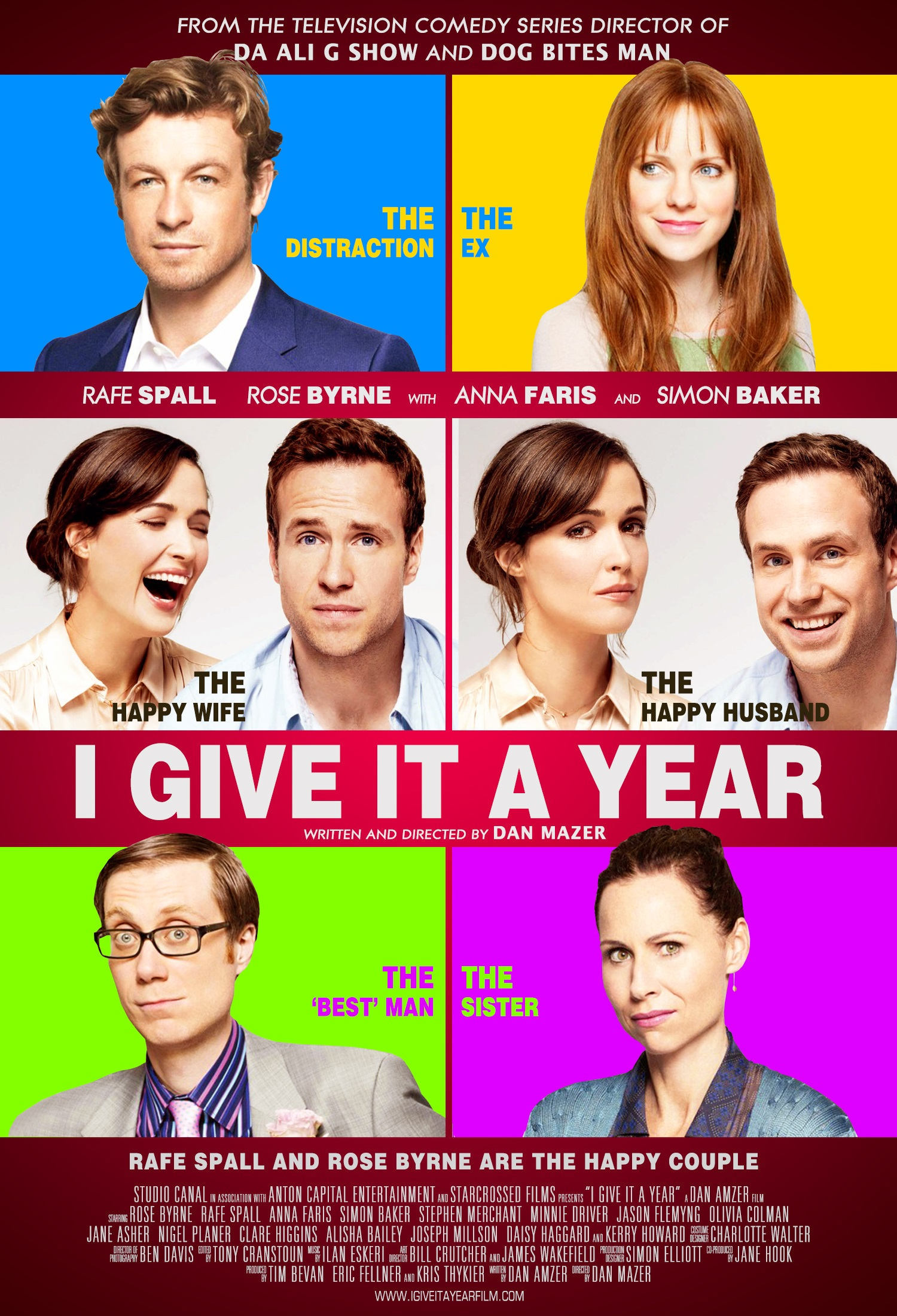 Give It A Year Dvd Cov...