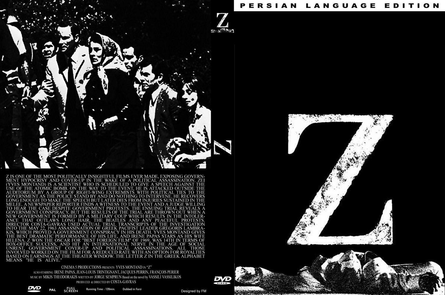 COVERS.BOX.SK ::: Z (1969) - high quality DVD / Blueray ...