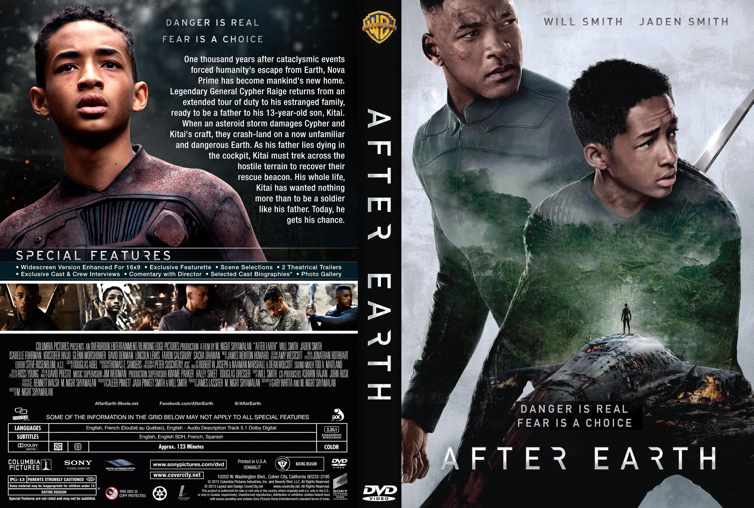 Covers Box Sk After Earth 2013 High Quality Dvd Blueray Movie