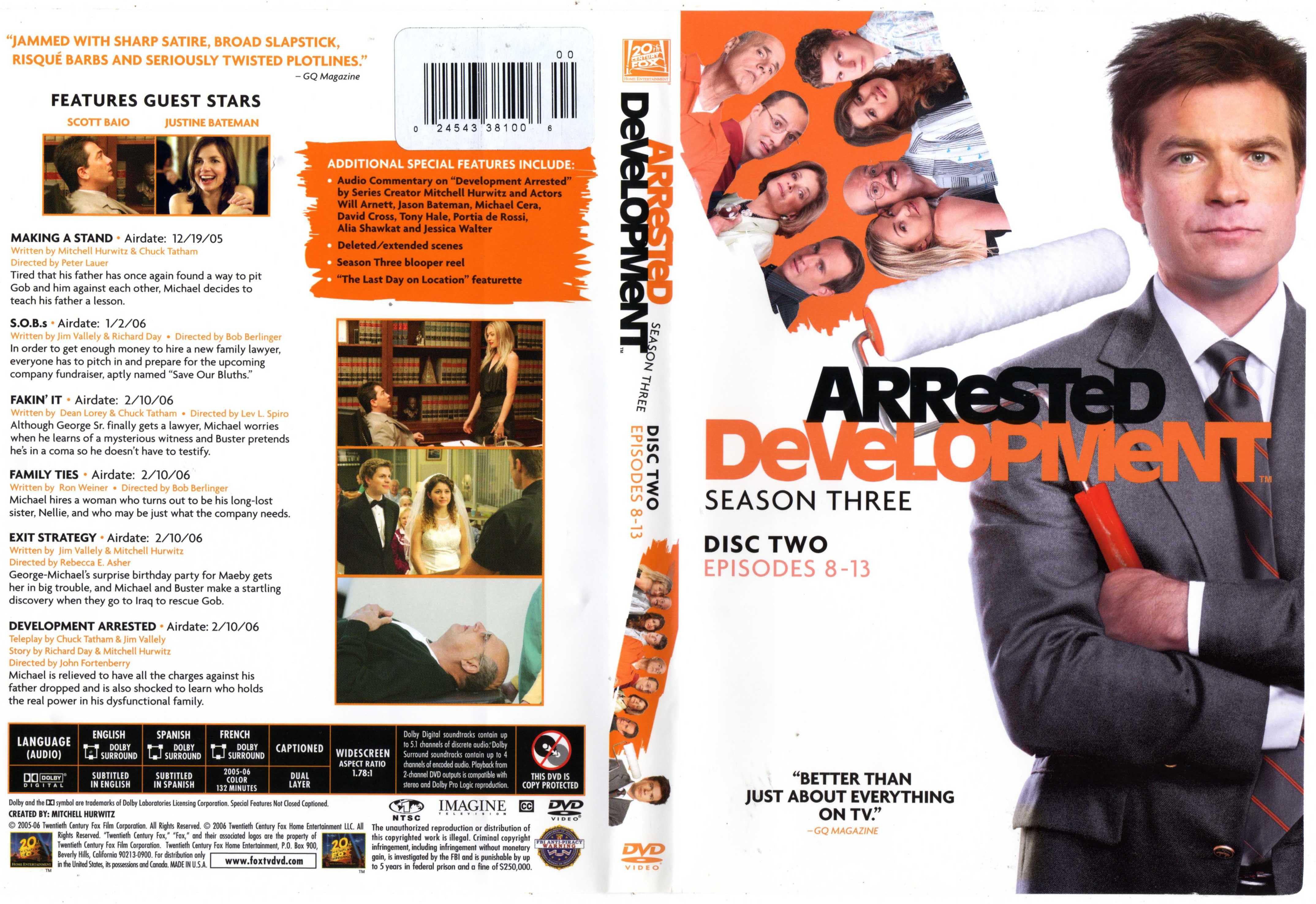 Aressted development movie