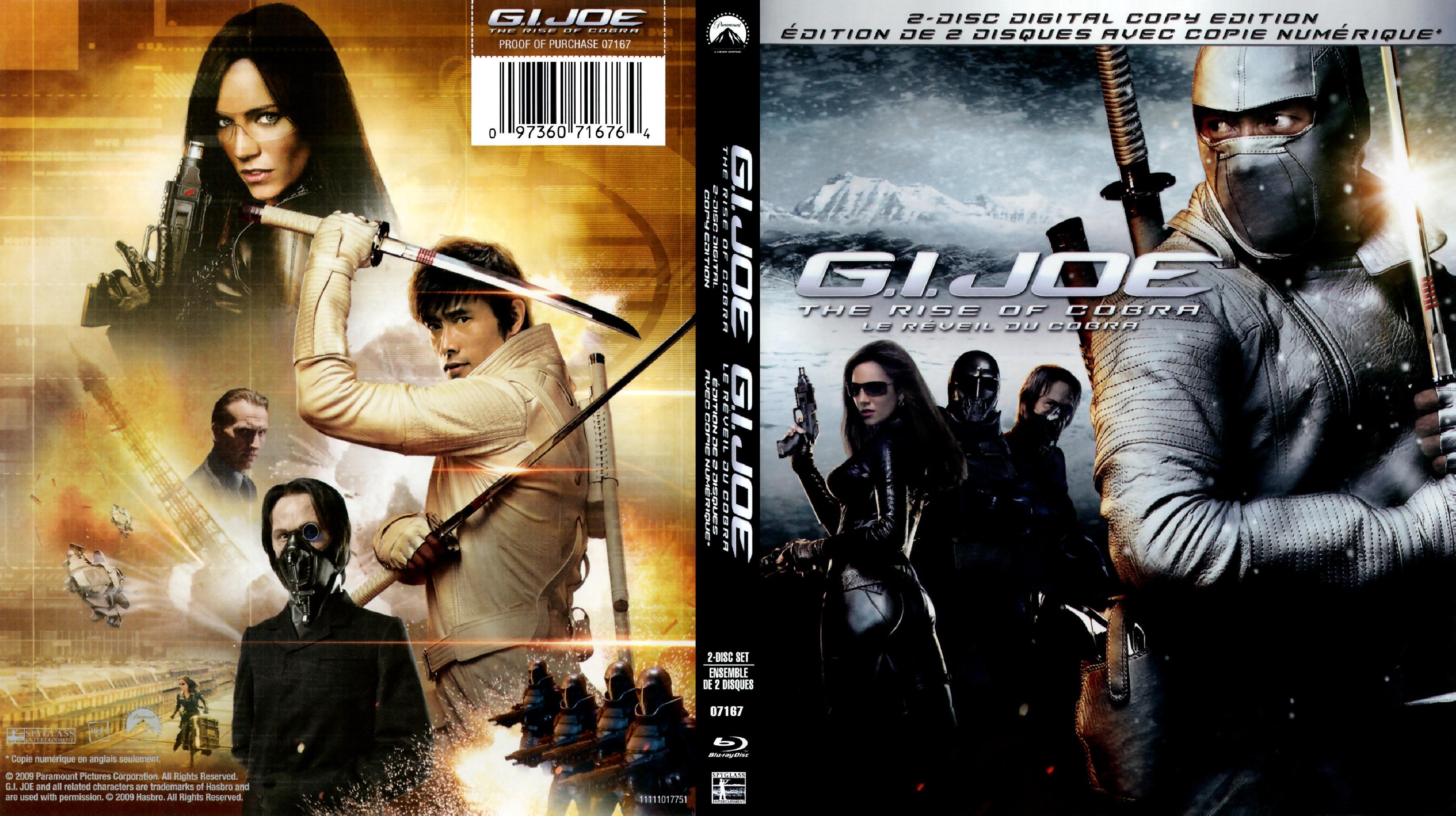 Covers Box Sk G I Joe The Rise Of Cobra 2009 Imdb Dl High Quality Dvd Blueray Movie