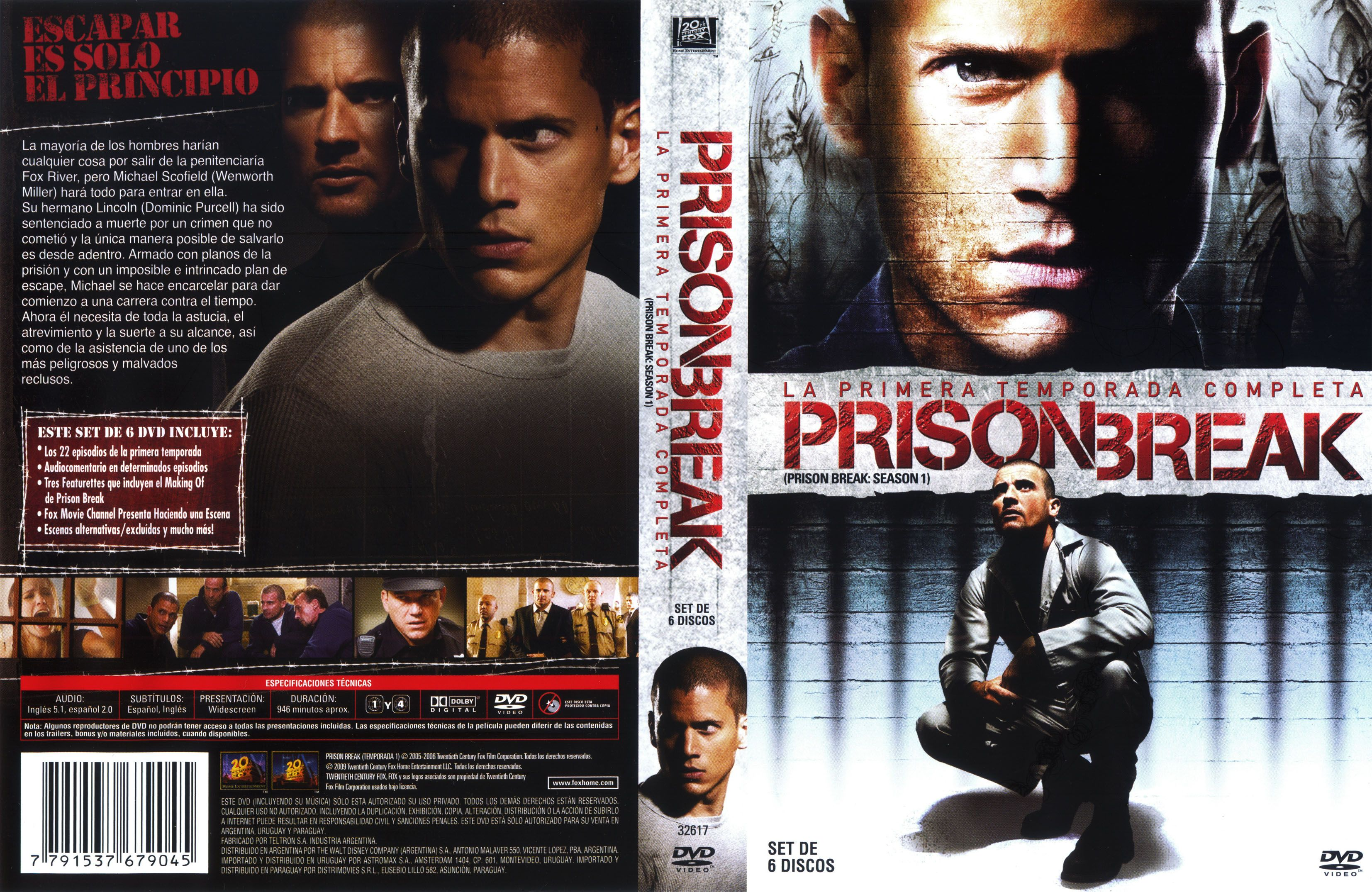 Covers Box Sk Prison Break Season 1 Box Set High Quality Dvd Blueray Movie