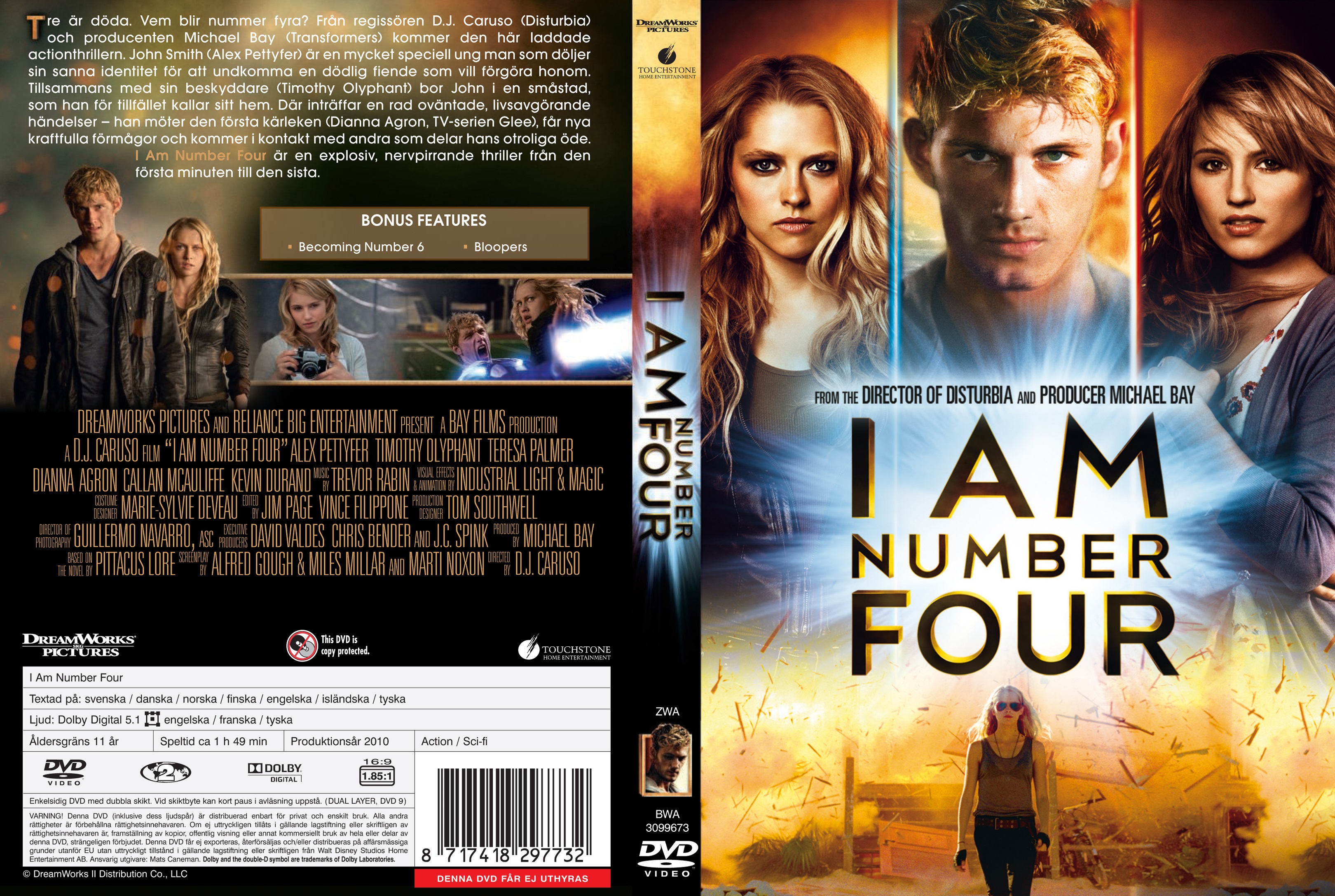 covers.box.sk ::: i am number four - 2011 - high quality dvd