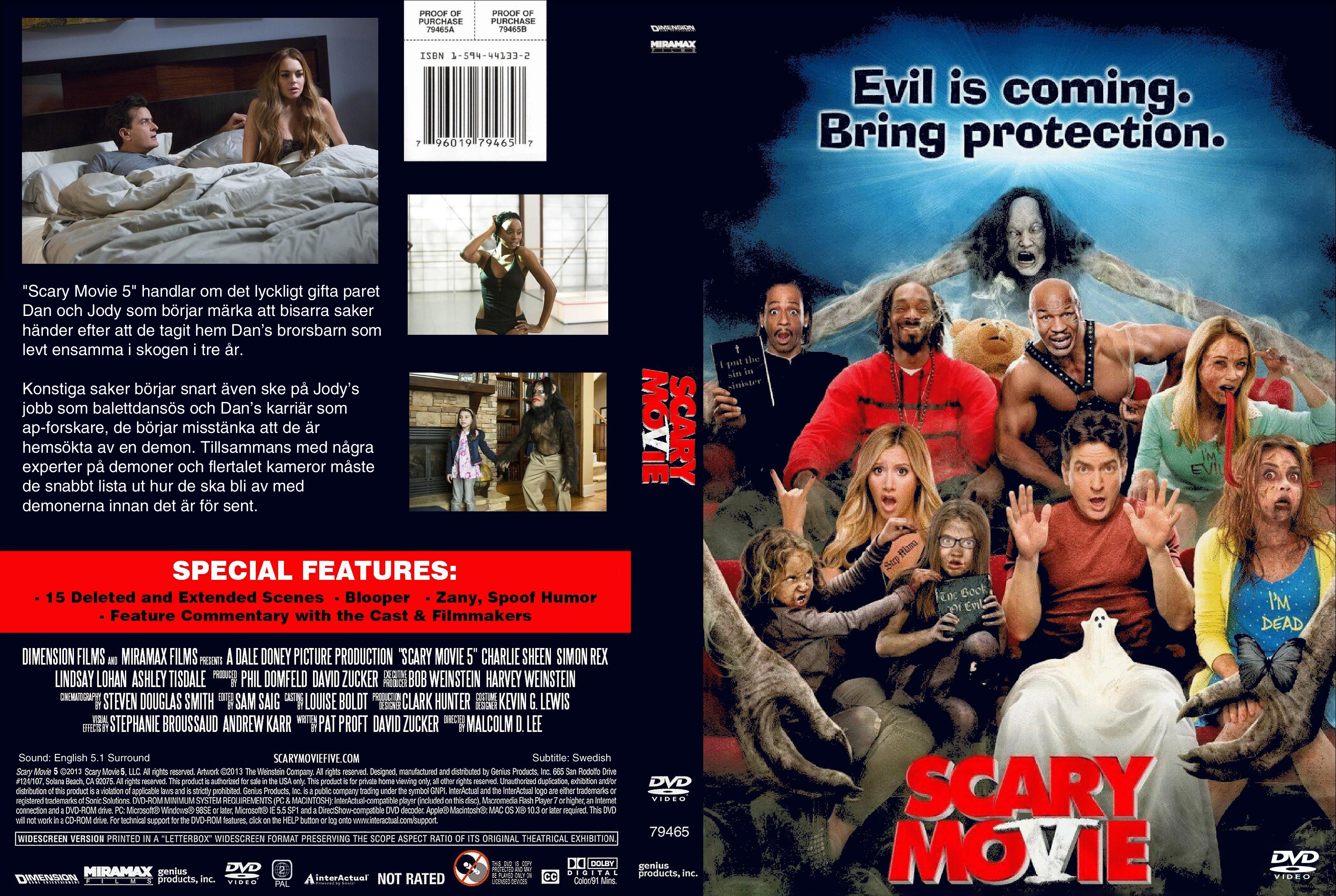 Covers Box Sk Scary Movie 5 2013 High Quality Dvd Blueray Movie