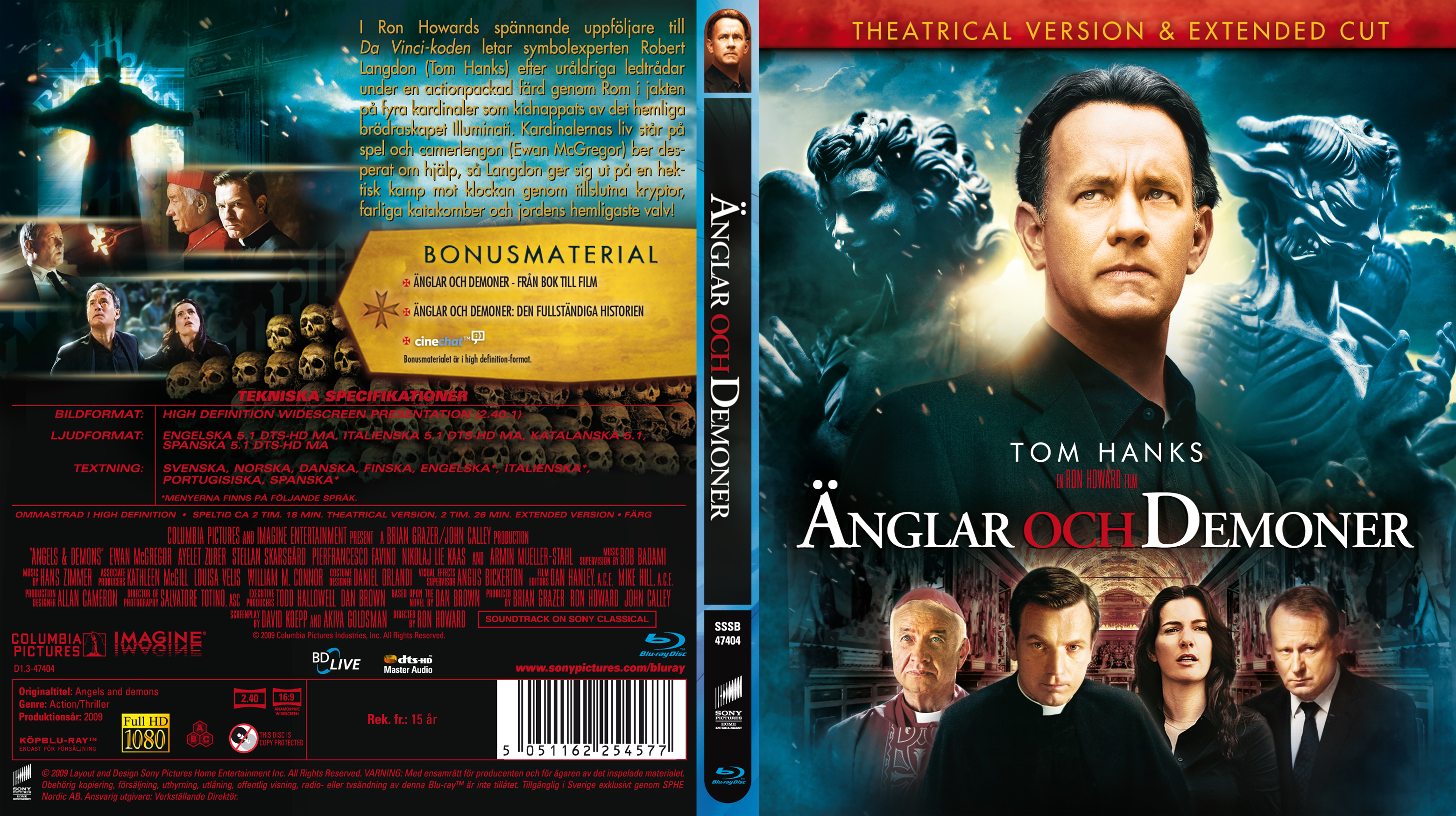Covers Box Sk Angels Demons Blu Ray 2009 High Quality
