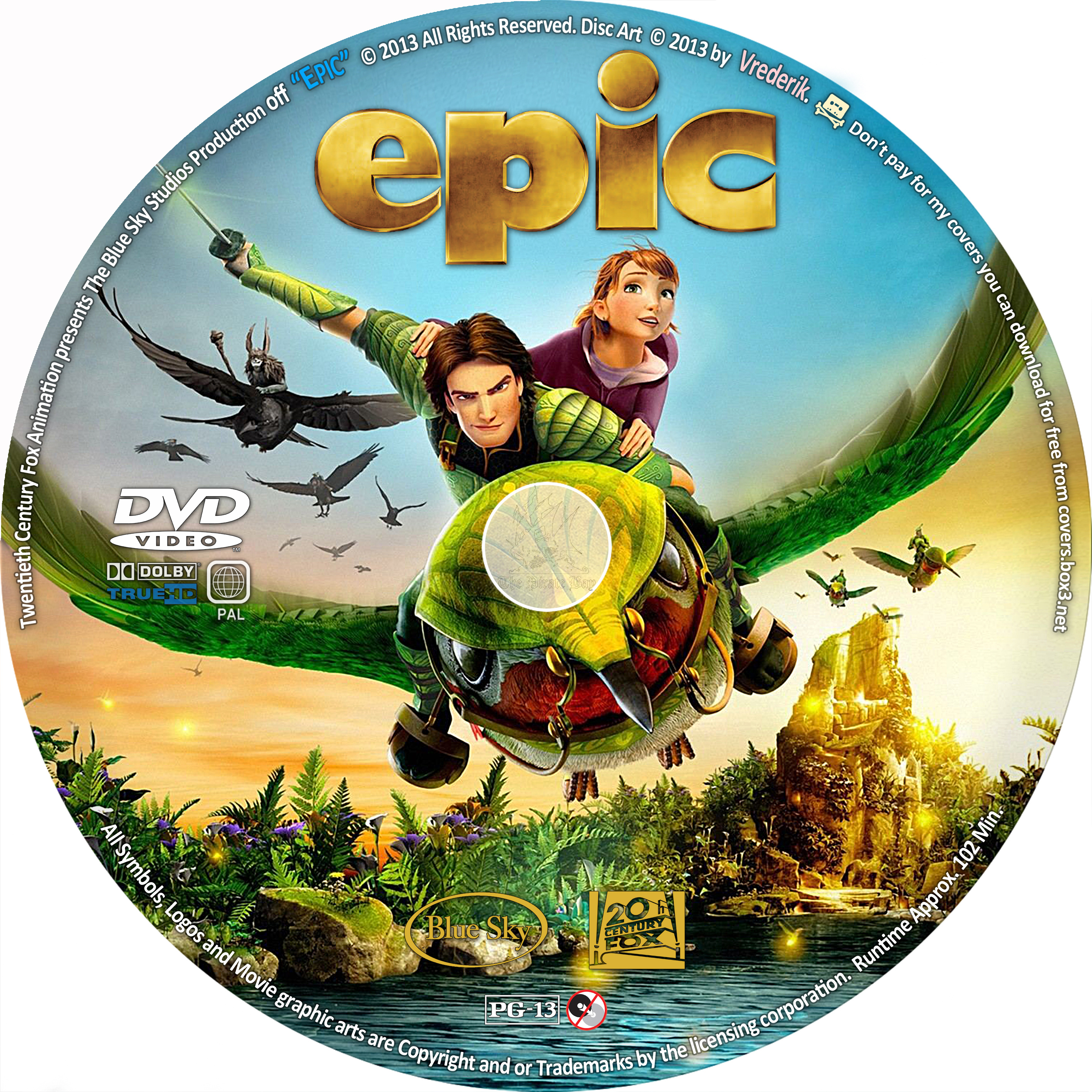 Epic Dvd Front Cover COVERS.BOX.SK ::: Epic...