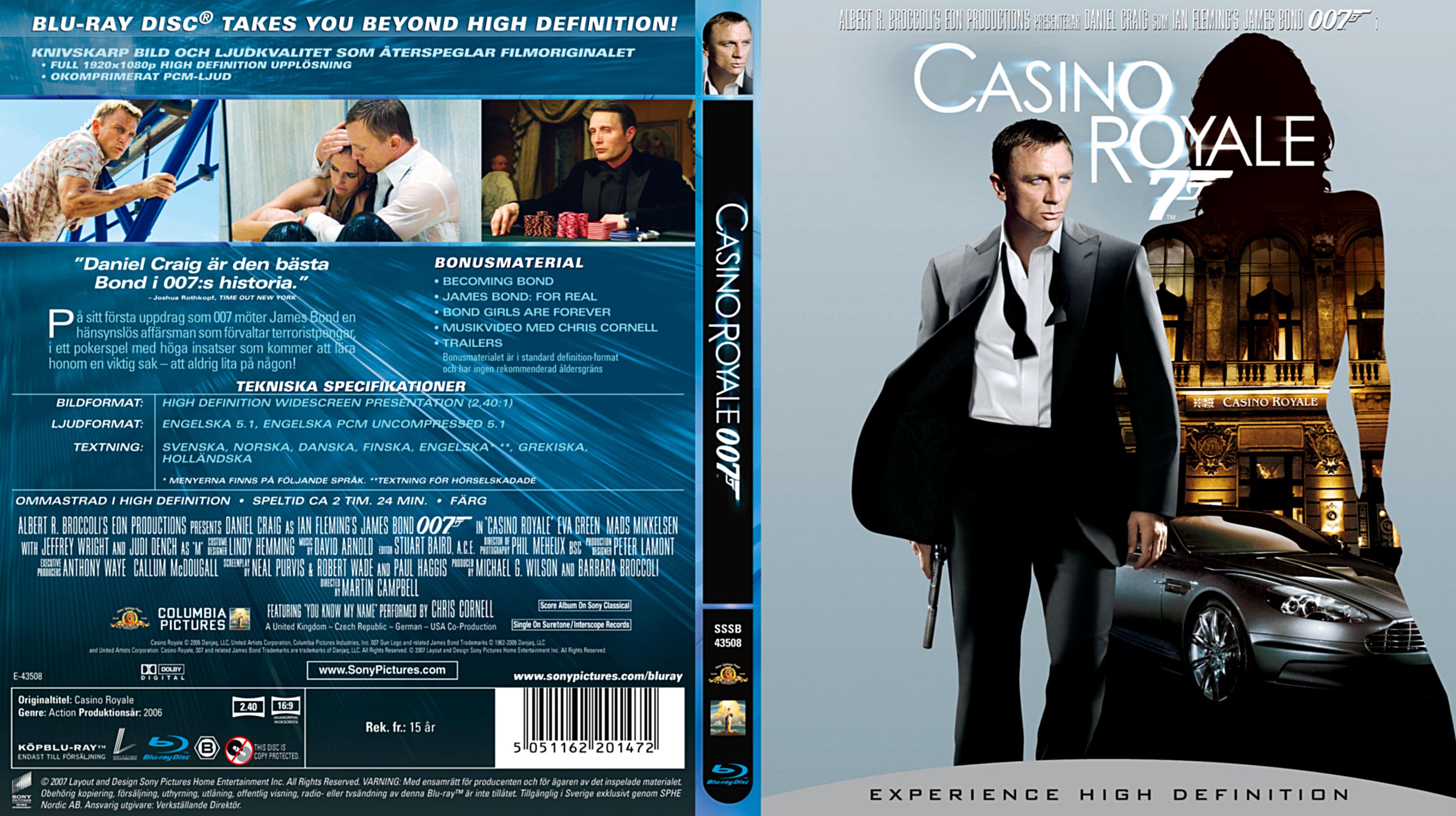 casino royale blu ray 2019